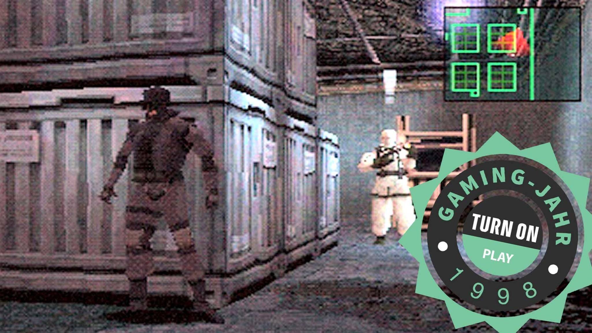 """""""Metal Gear Solid"""" für PlayStation revolutionierte das Action-Adventure-Genre."""