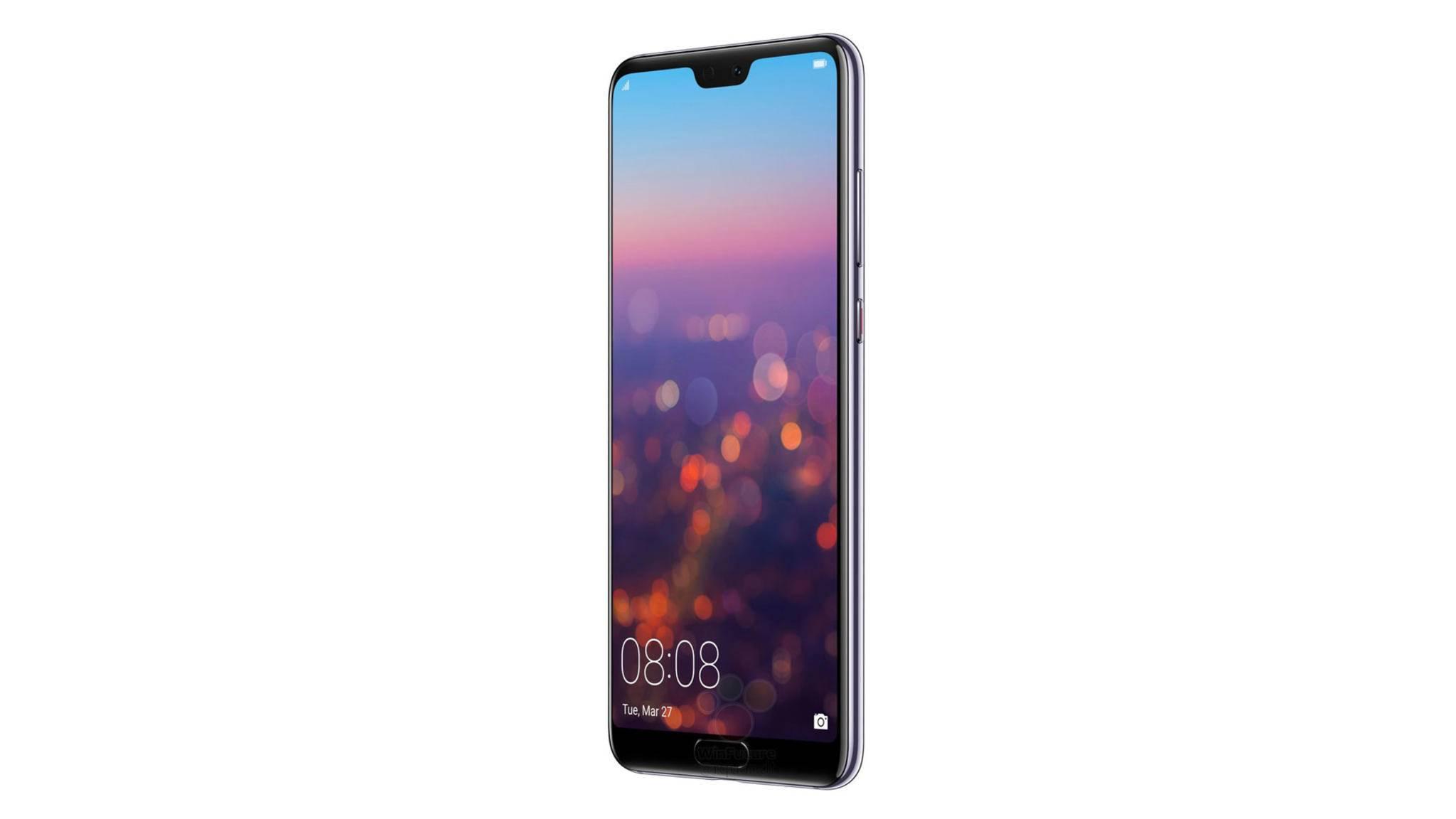 Will es offenbar mit DSLRs aufnehmen: Das Huawei P20.