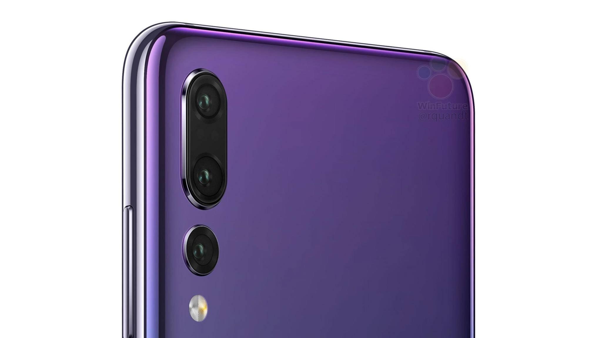 Eine Triple-Kamera soll dem Huawei P20 Pro vorbehalten sein.
