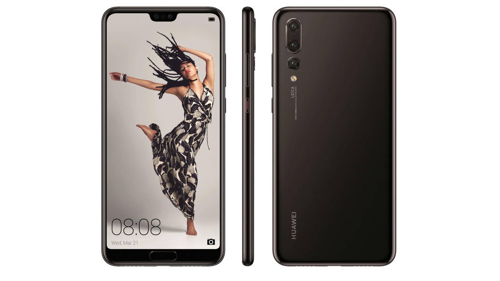 Nur das Huawei P20 Pro soll eine Triple-Kamera besitzen.