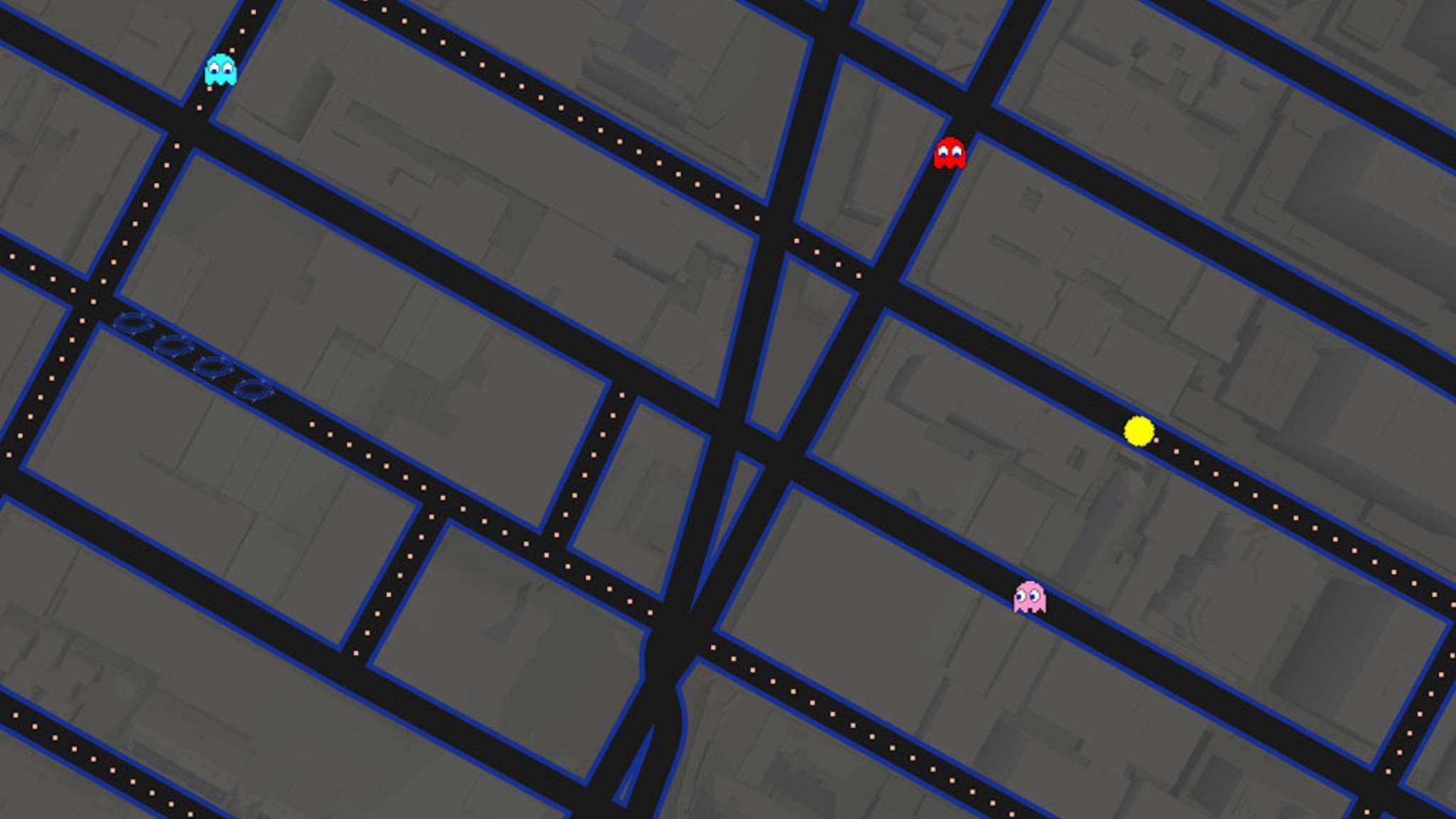 Jep, in Deinem Android versteckt sich ein vollständiges Pac-Man-Spiel.