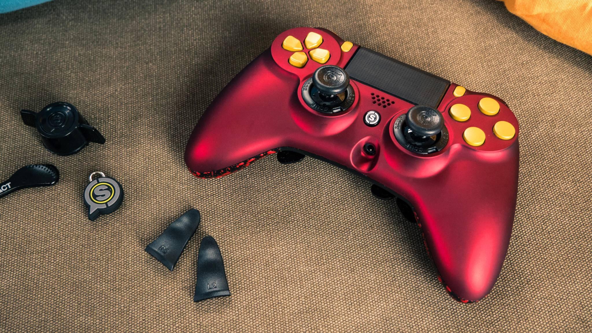 Der Scuf Impact richtet sich an Gamer mit professionellem Anspruch.