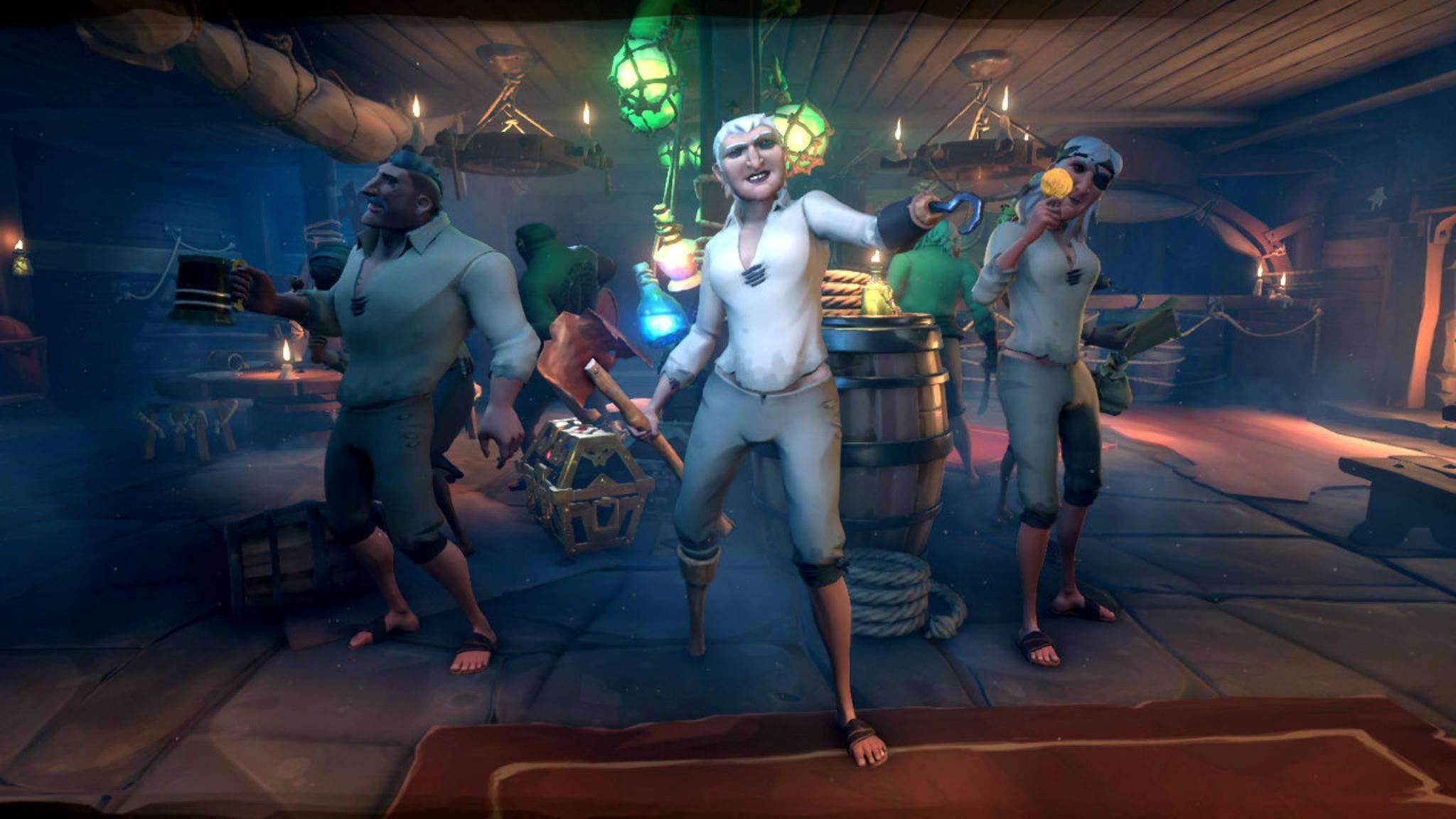 """Der """"Infinite Pirate Generator"""" erstellt zufällige Piraten als Spielfiguren. Doch werden die später auch noch anpassbar sein?"""