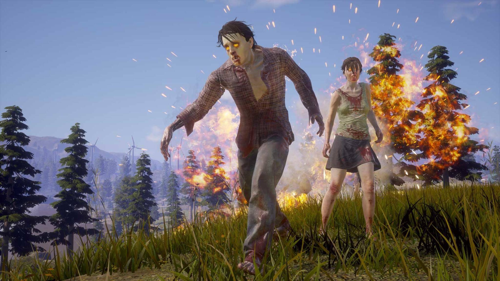 """""""State of Decay 2"""" hat schon über eine Million Spieler."""
