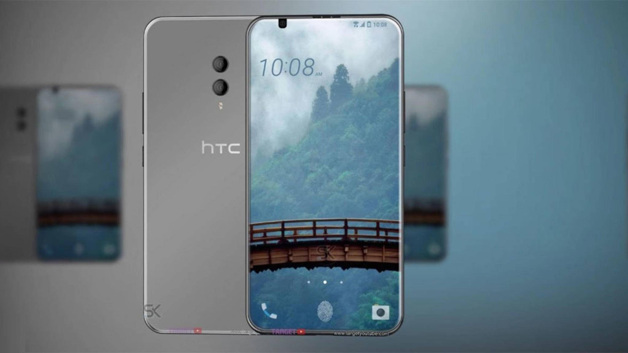 Das HTC U12 (Konzeptbild) könnte schon im April erscheinen.