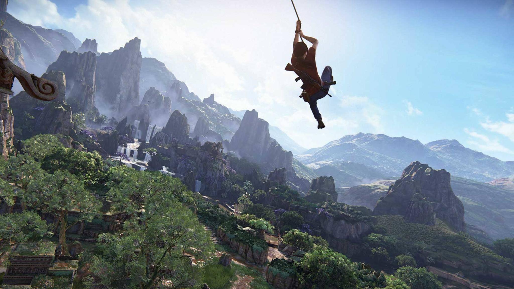 """Games wie """"Uncharted: The Lost Legacy"""" fordern unsere Aufmerksamkeit heraus."""