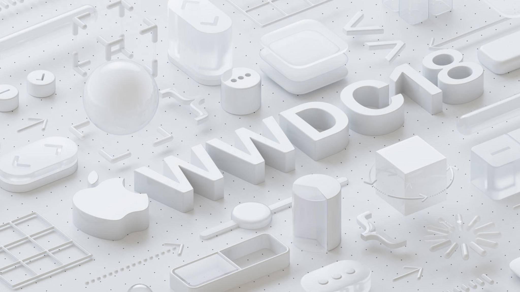 Apple hat den Termin für die WWDC 2018 mitgeteilt.