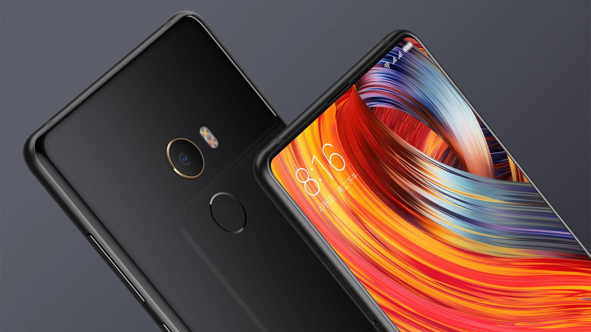 Smartphones wie das Xiaomi Mi Mix 2 werden auch ihren Weg nach Europa finden.