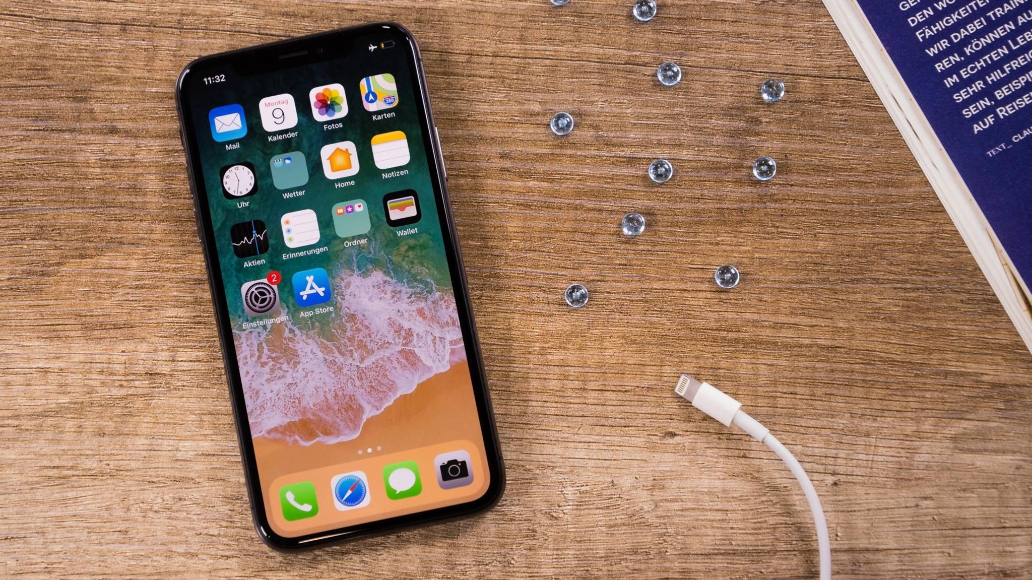 Das Display Deines iPhone X flackert plötzlich? Das ist zu tun.