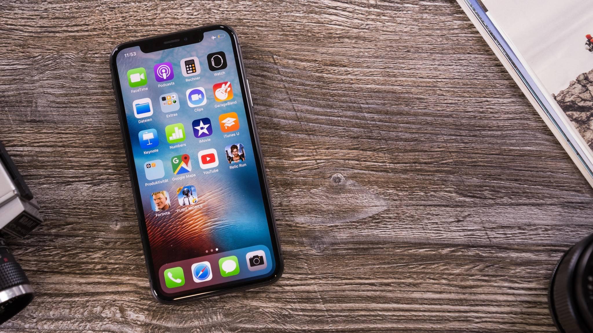 Die Kerbe des iPhone X hat schon viele Nachahmer gefunden.