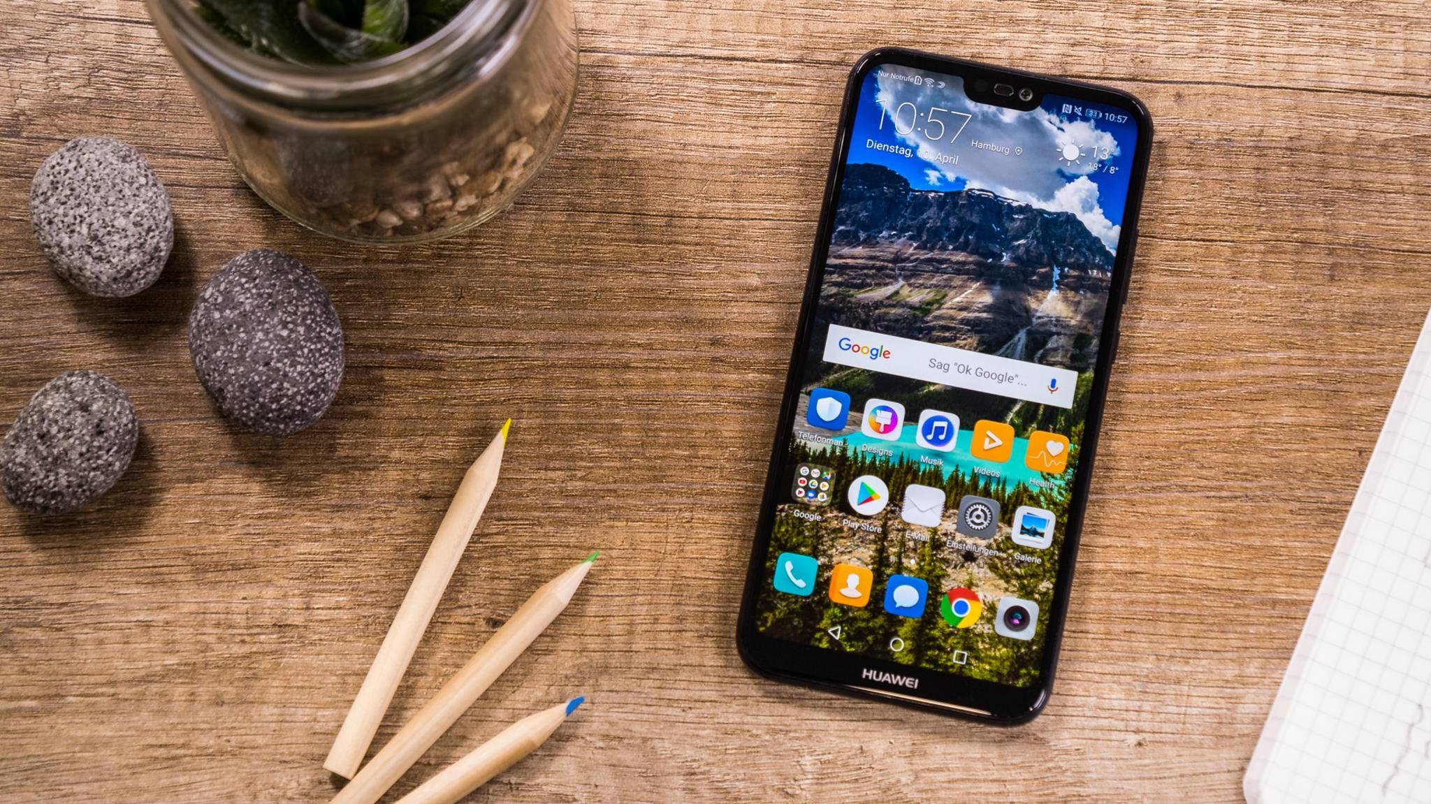 Das Huawei P20 Lite bietet hochwertiges Design zum Mittelklasse-Preis.