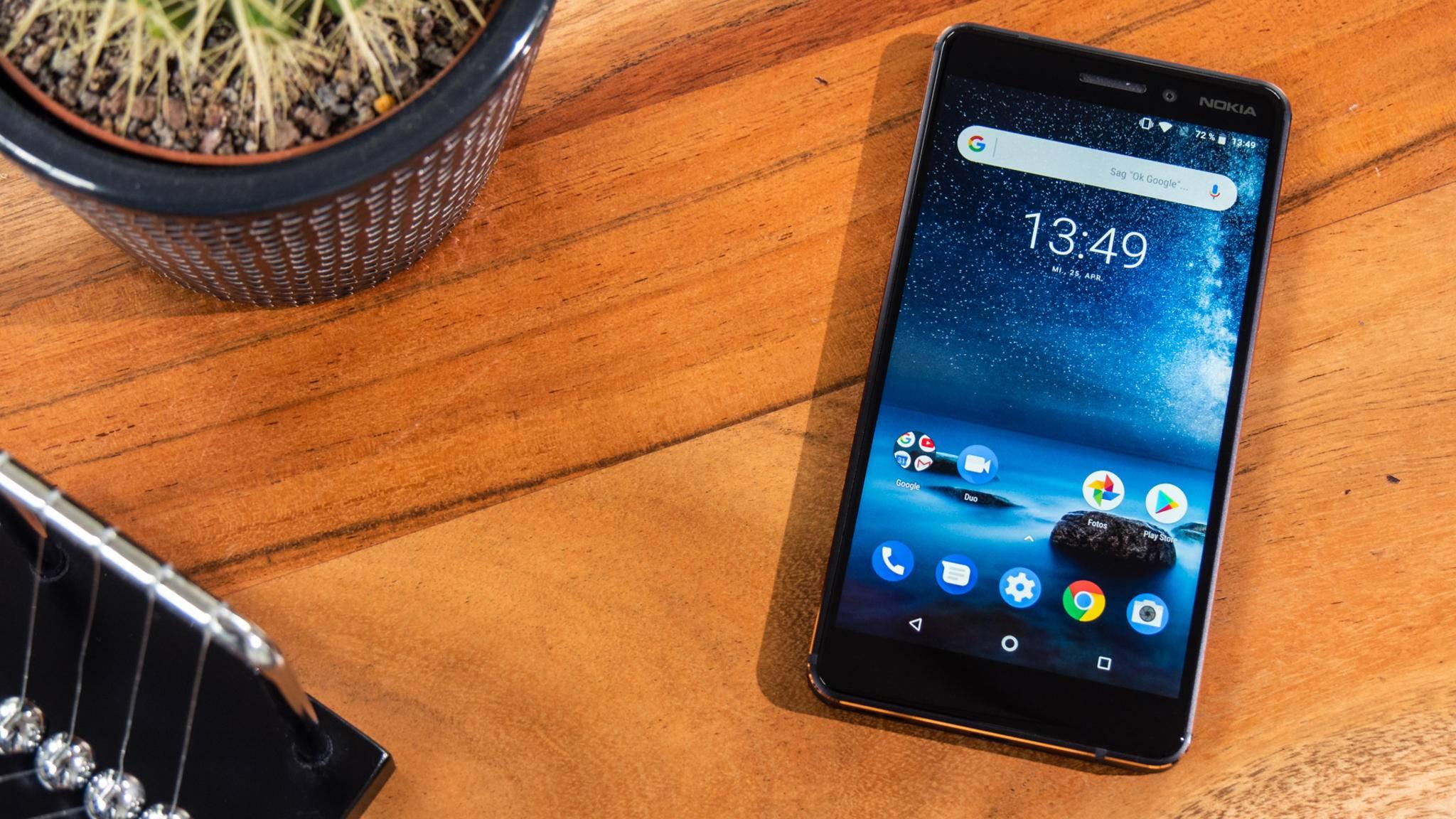 Das Nokia 6.1 bügelt viele Schwächen des Vorgängers aus.