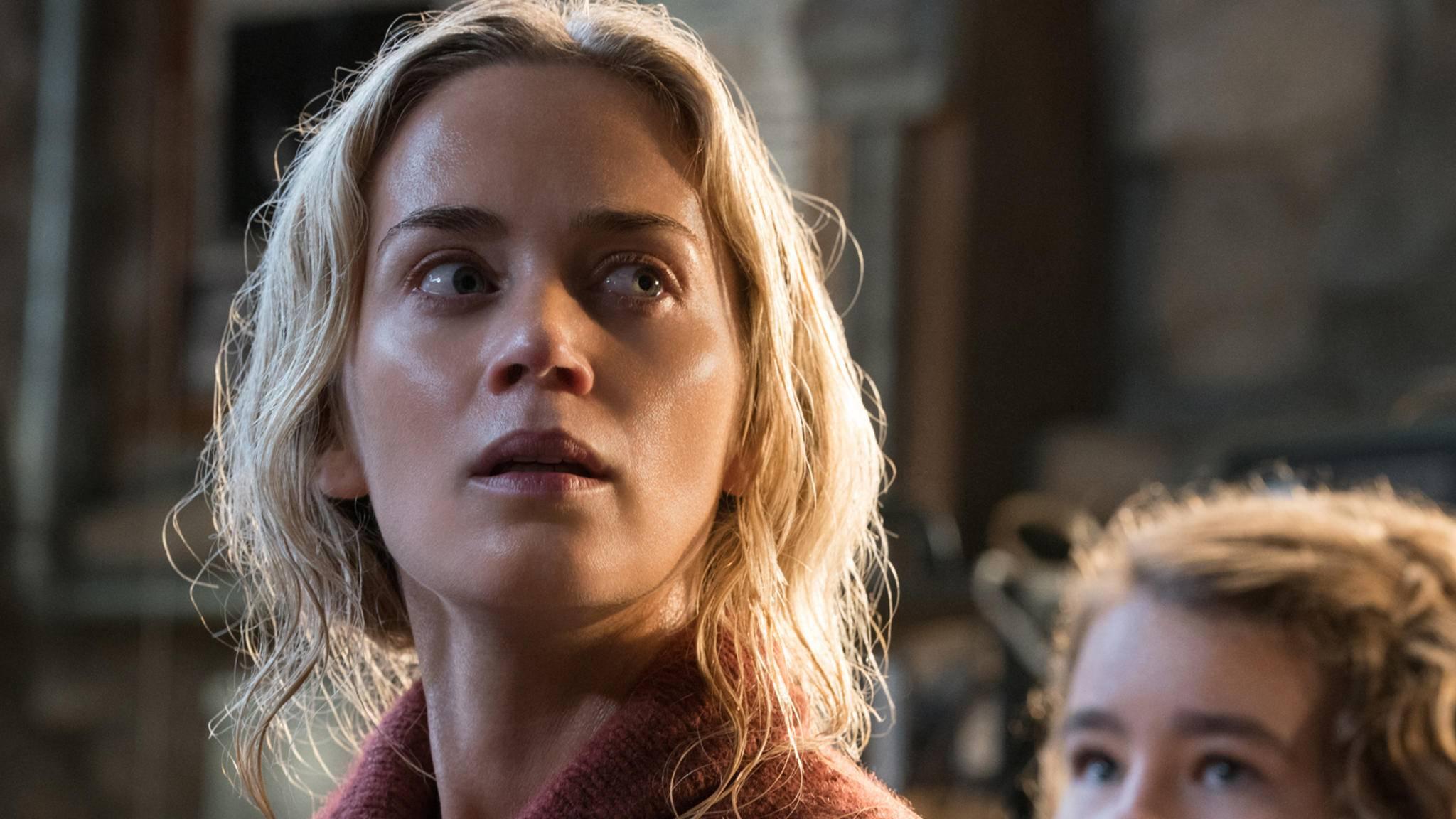 """Emily Blunt überzeugt nicht nur in """"A Quiet Place"""", sondern auch in den folgenden Top-Filmen."""