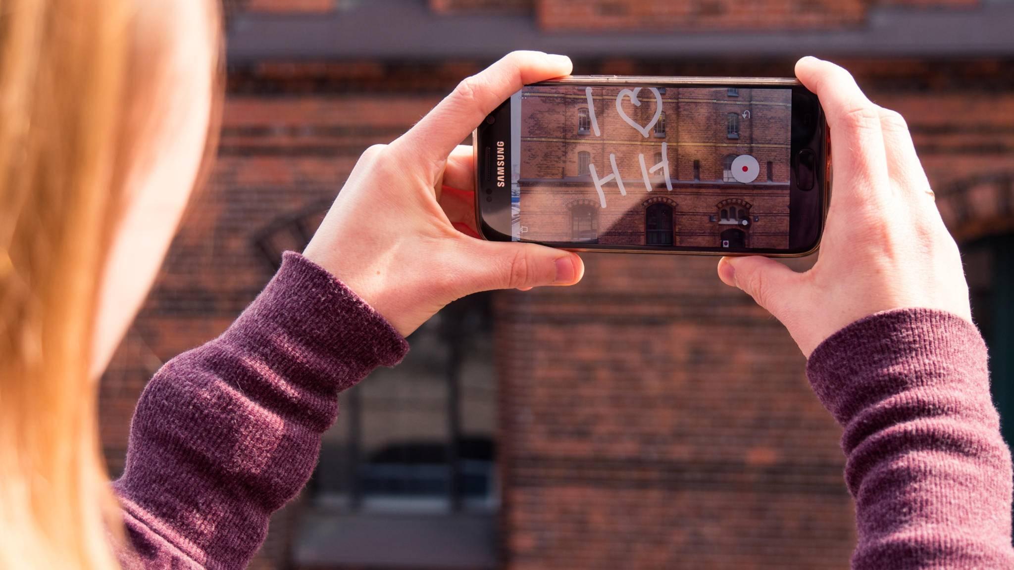 Das AR-Experiment Just a Line ist unsere App des Monats.