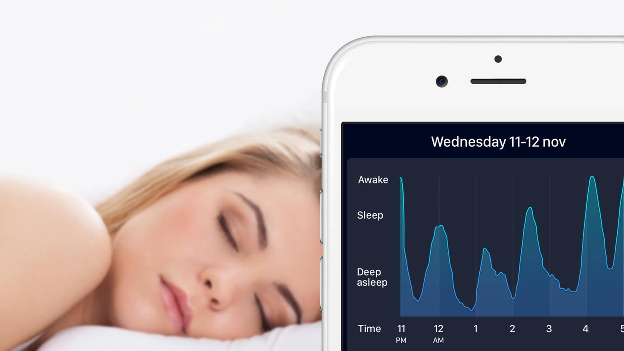 Die App Sleep Cycle erkennt ab sofort auch Schnarchen.