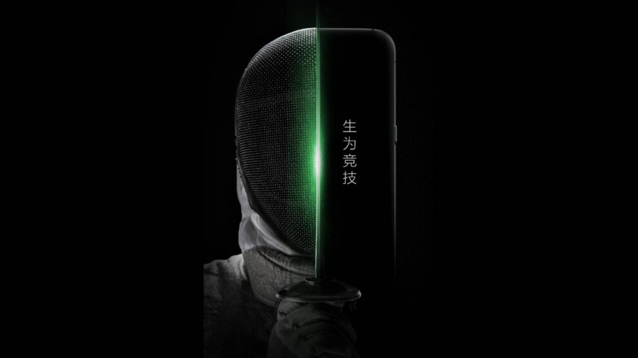 Xiaomis Gaming-Smartphone hat abgerundete Kanten.