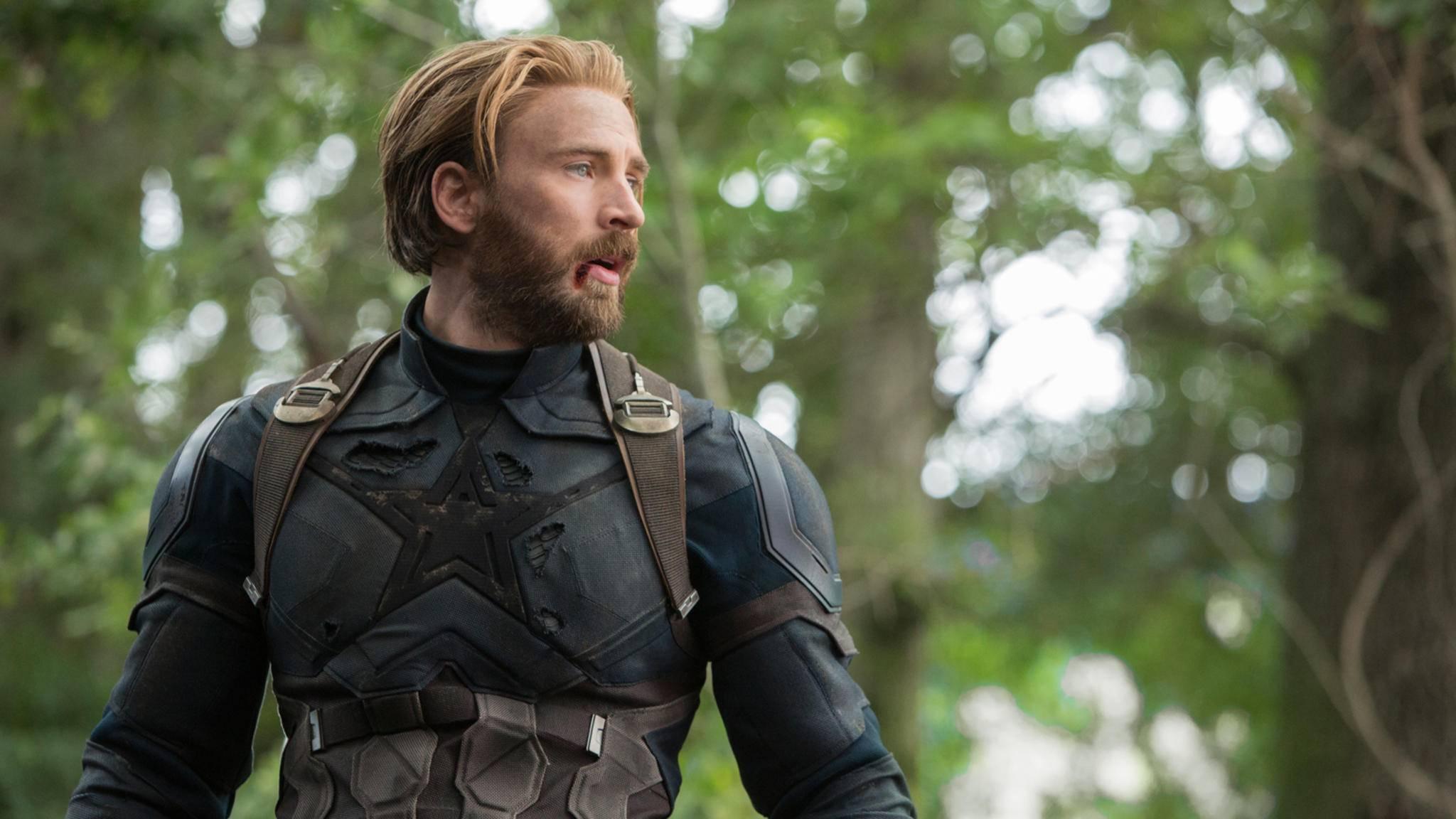 Cap-Darsteller Chris Evans muss von seinen Marvel-Kollegen einiges an Spott einstecken.