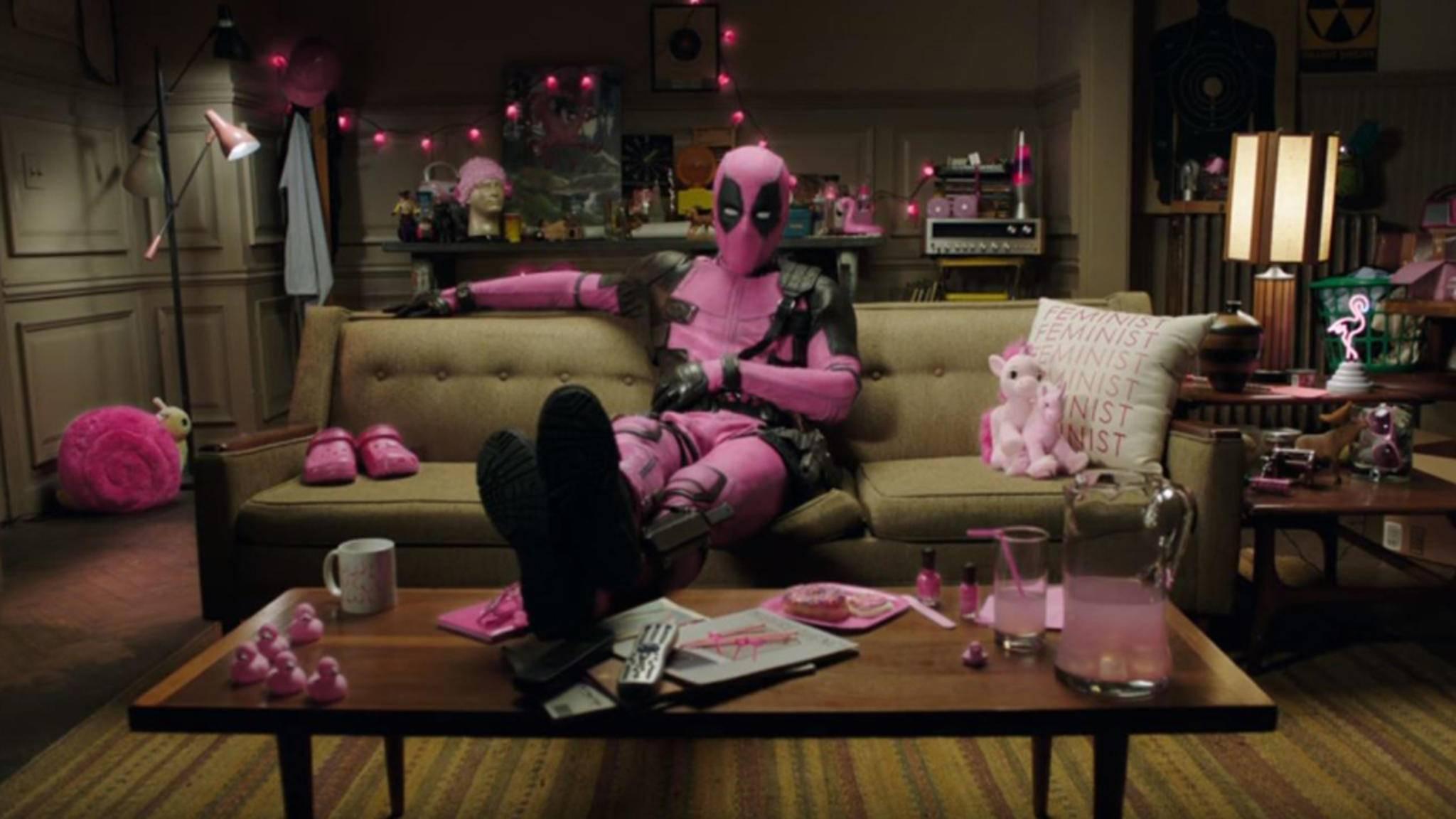 Hat vor nichts und niemandem Respekt: Mutant Deadpool.