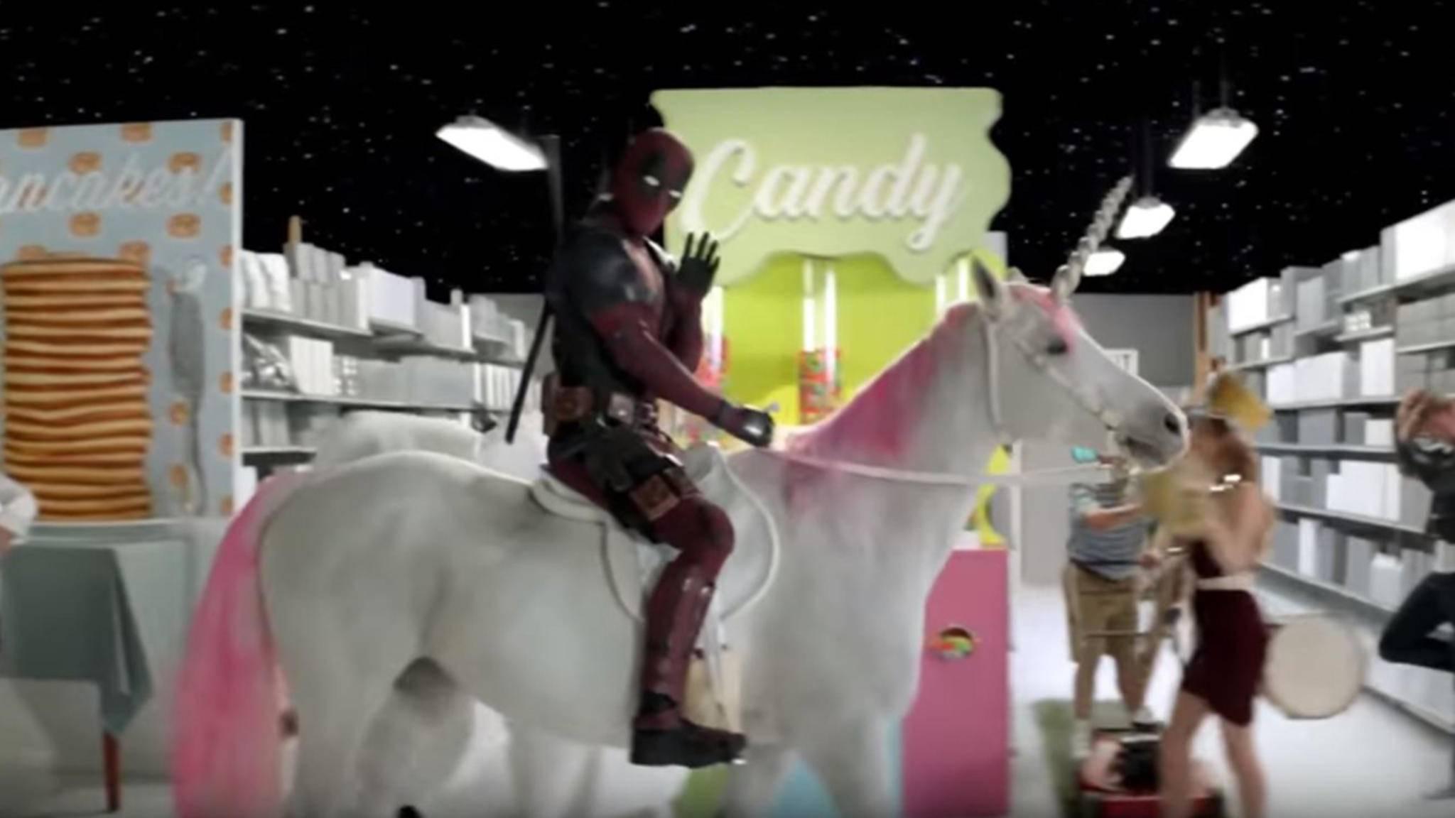 Ja, Deadpool liebt Einhörner. Aber dieser Auftritt toppt alles ...