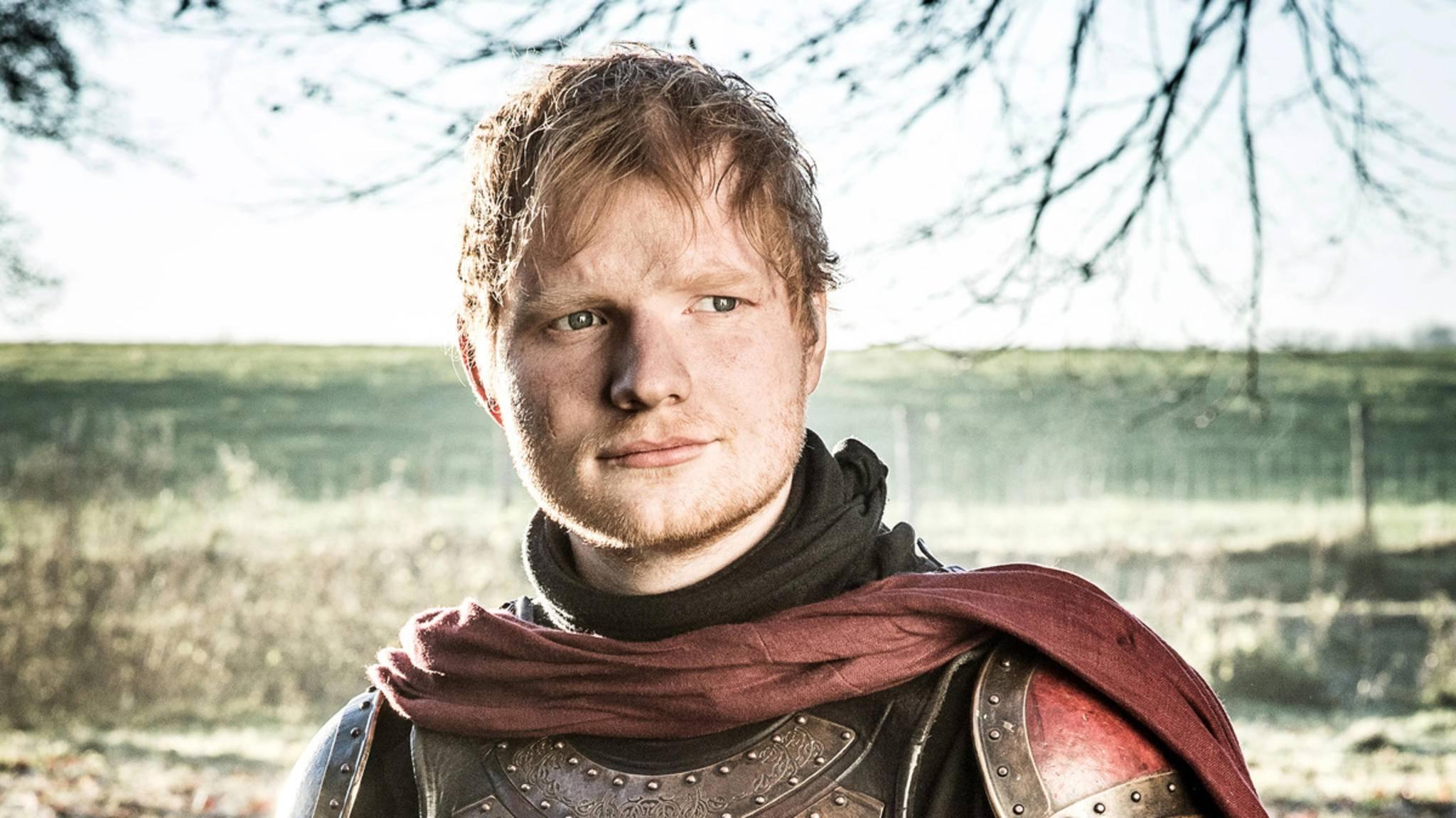 """Ein Ständchen dürfte Ed Sheeran in """"Star Wars 9"""" dieses Mal eher nicht zum Besten geben."""