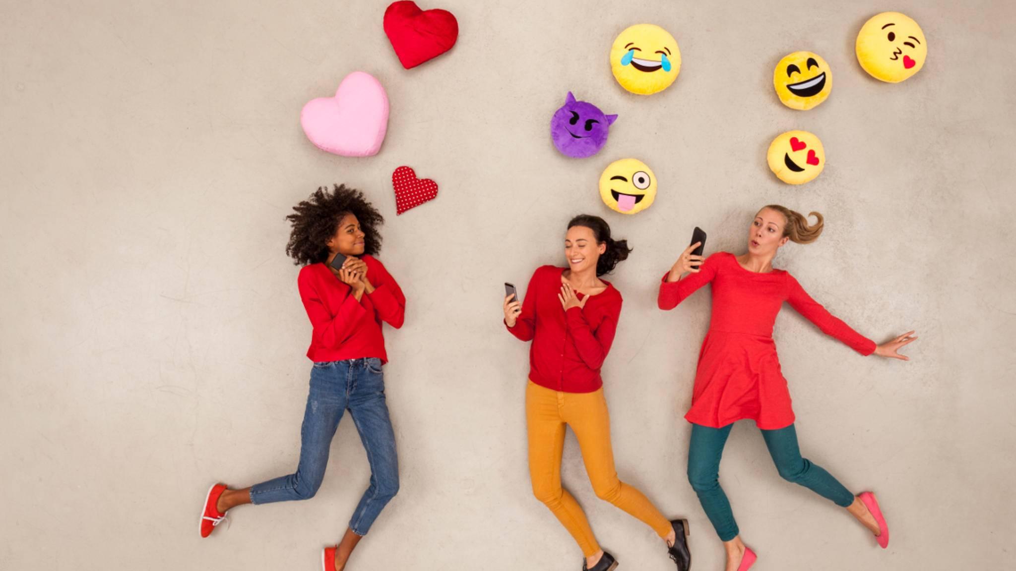 Emojis sind aus unserer Kommunikation nicht mehr wegzudenken.
