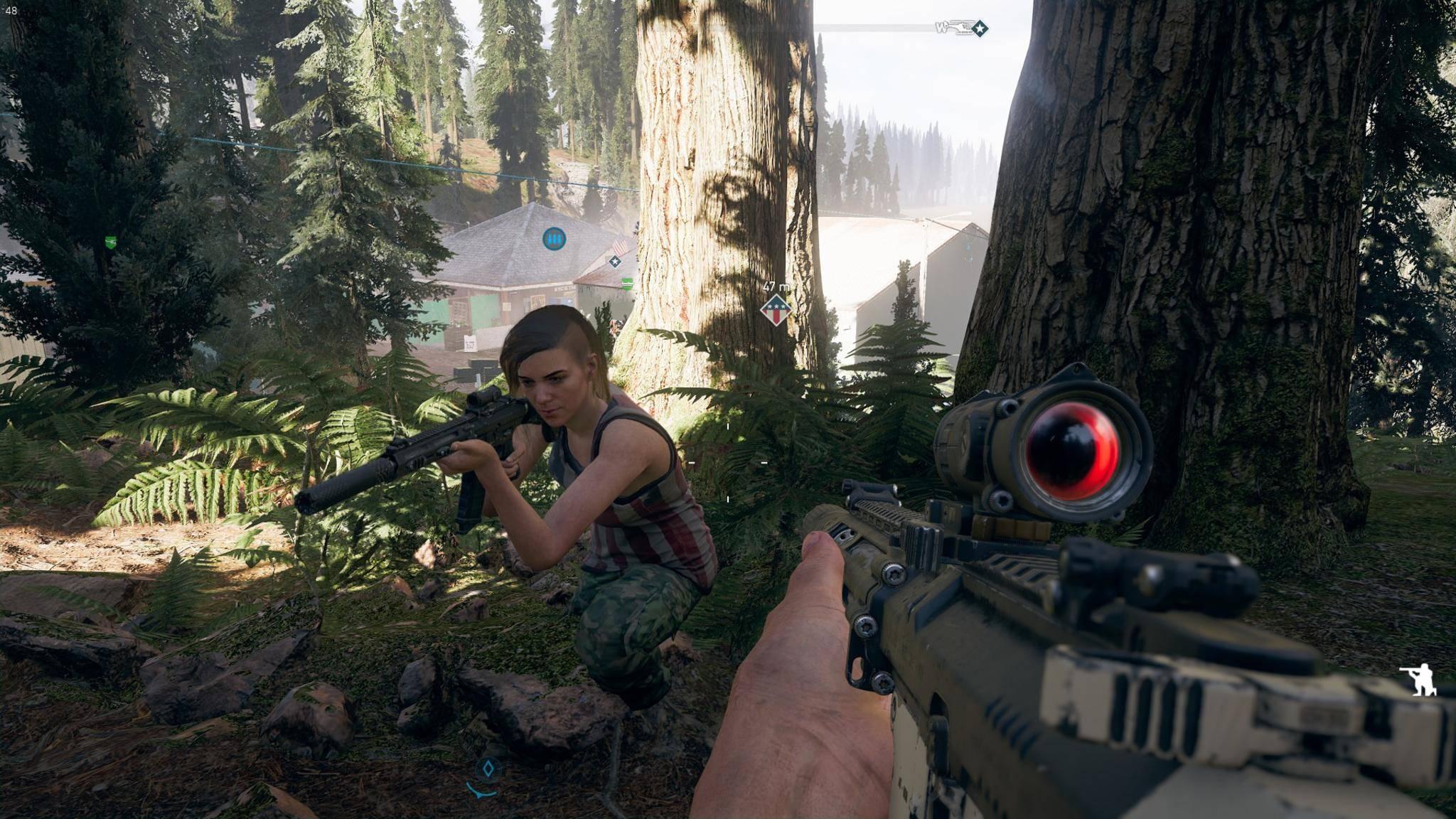 """""""Far Cry 5"""" hat einen spaßigen Koop-Modus, der Dir viele Möglichkeiten eröffnet."""