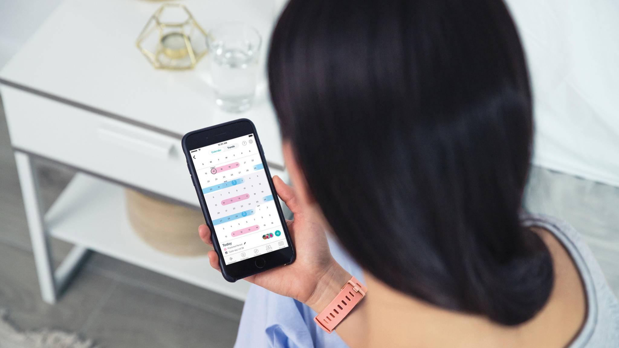 Mit Female Health können Fitbit-Versa-Nutzerinnen künftig Periode und Co. tracken.