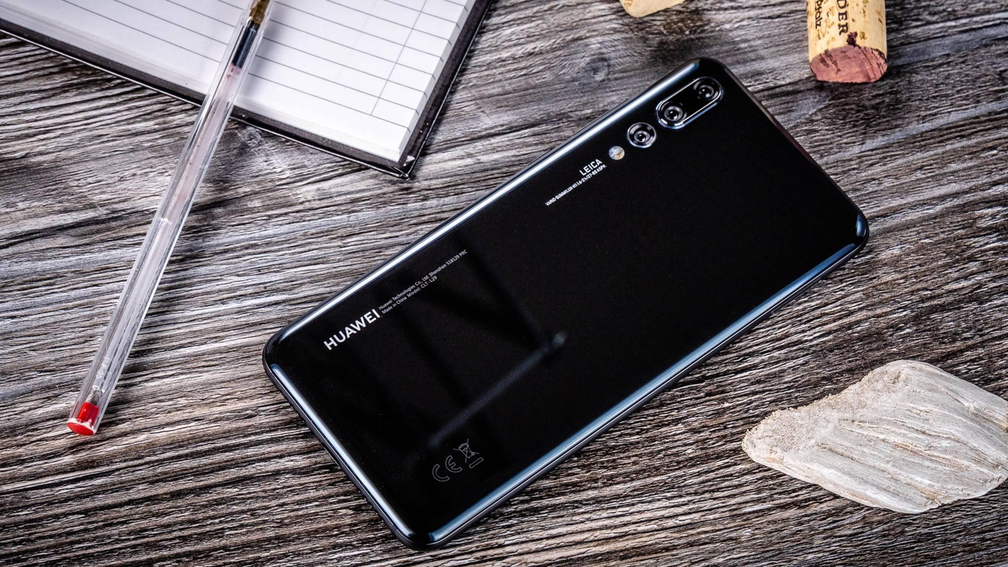 Das Huawei P20 Pro und acht weitere Geräte bekommen ab dem 10. November Android 9.0.