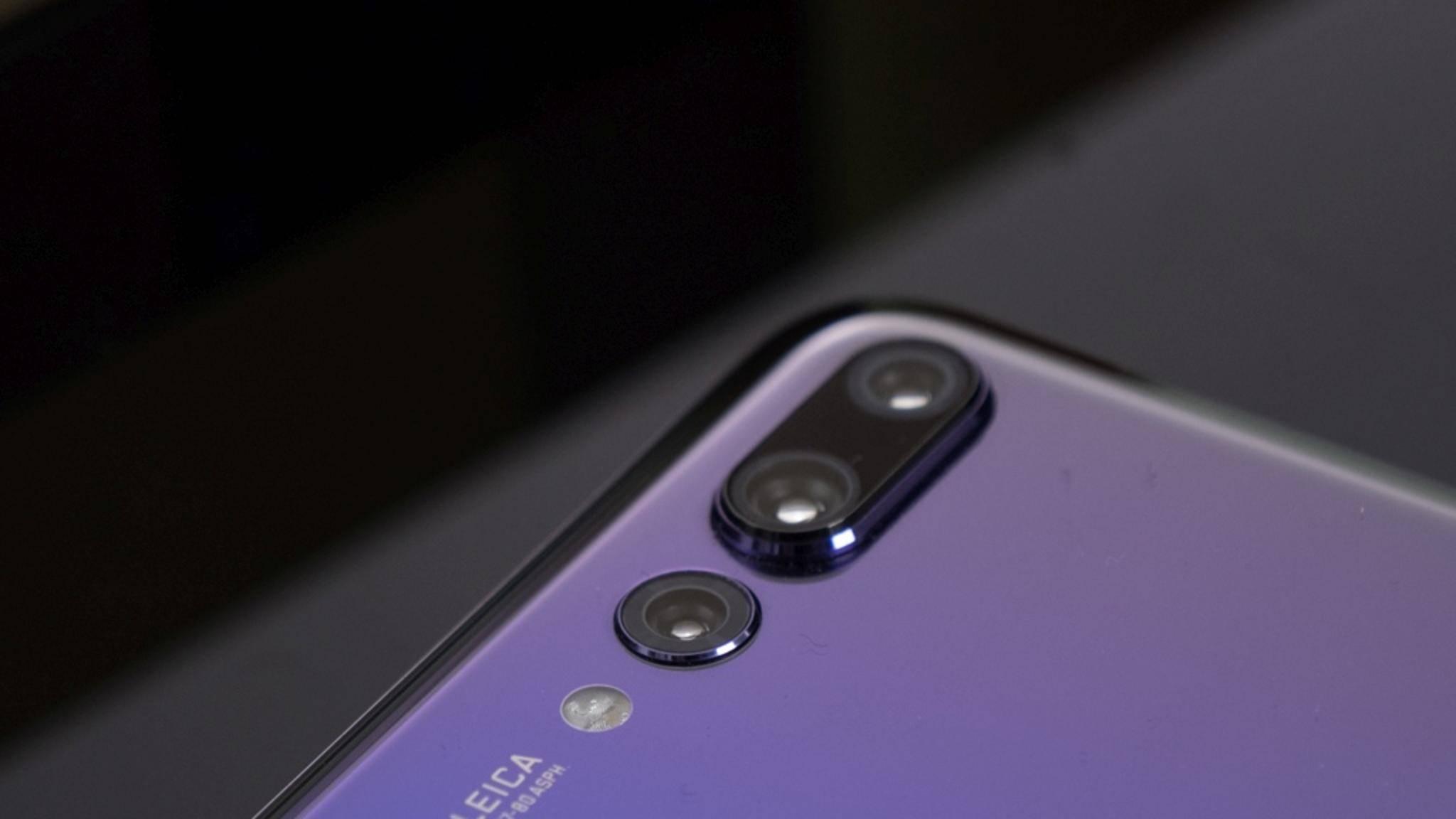Das Huawei P20 Pro nimmt nun automatisch Zeitlupenvideos auf.