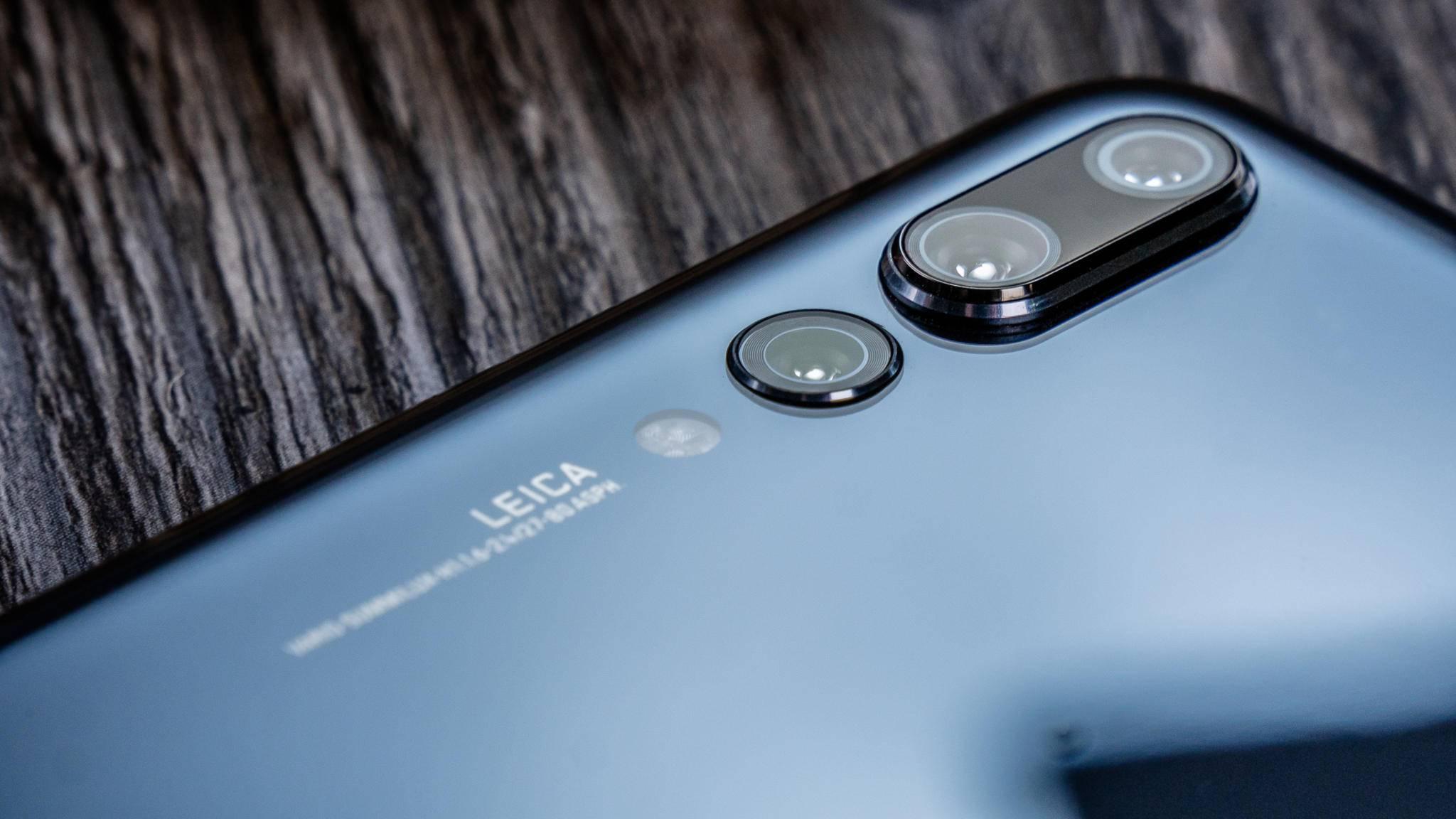 Die Hauptkameras des Huawei P20 Pro knipsen starke Selfies.