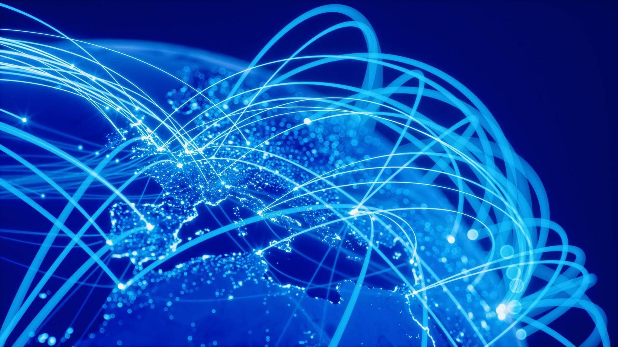 Das Internet verbindet die ganze Welt aber kaum jemand weiß, woher es kommt.
