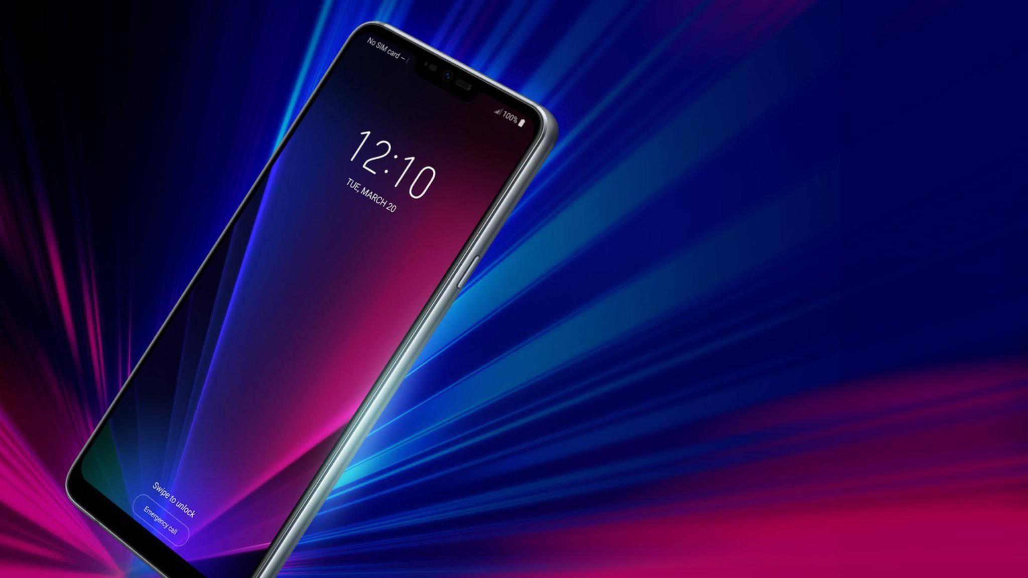 Das IPS-Display des LG G7 ThinQ soll mit einer sehr hohen Maximalhelligkeit überzeugen.