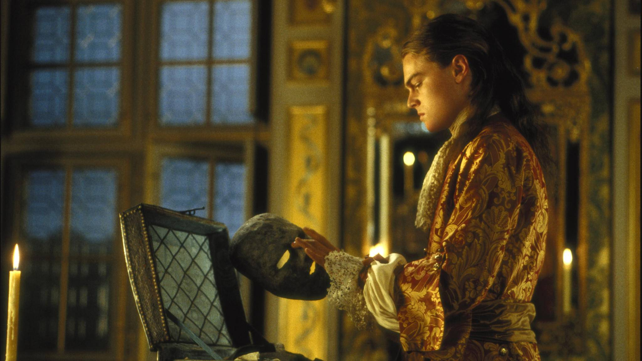 """In """"Der Mann in der eisernen Maske"""" hat der französische König (Leonardo DiCaprio) einen geheimen Zwilling."""