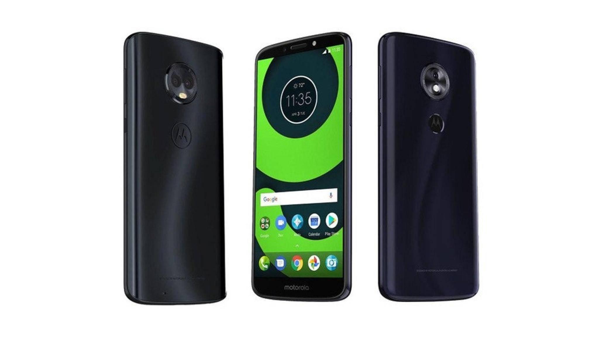 Motorola stellt die Moto-G6-Serie voraussichtlich noch im April vor.