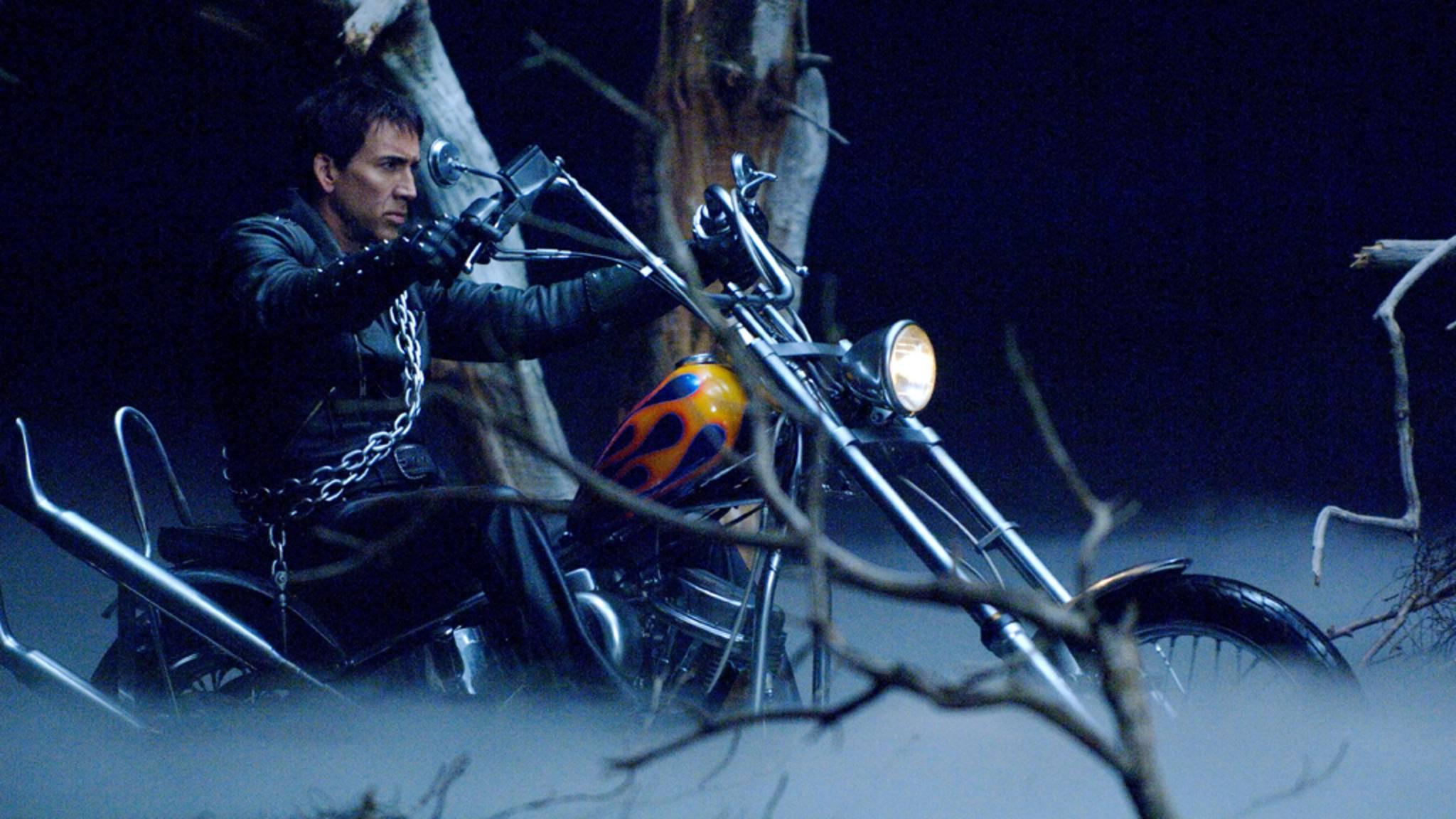Nicolas Cage hätte nichts gegen eine weitere Fahrt für den Ghost Rider einzuwenden – allerdings will er selbst nicht erneut in den Sattel steigen.