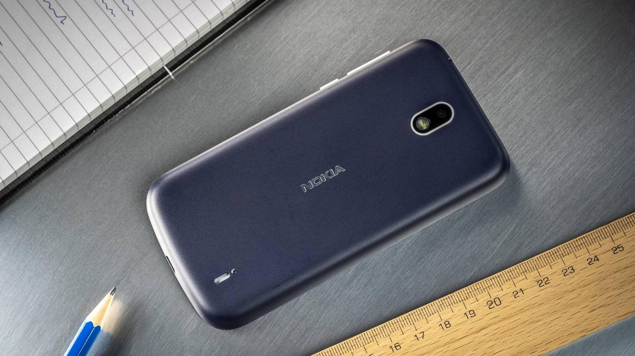Das Nokia 1 mit Android Go gibt es derzeit für rund 100 Euro zu kaufen.
