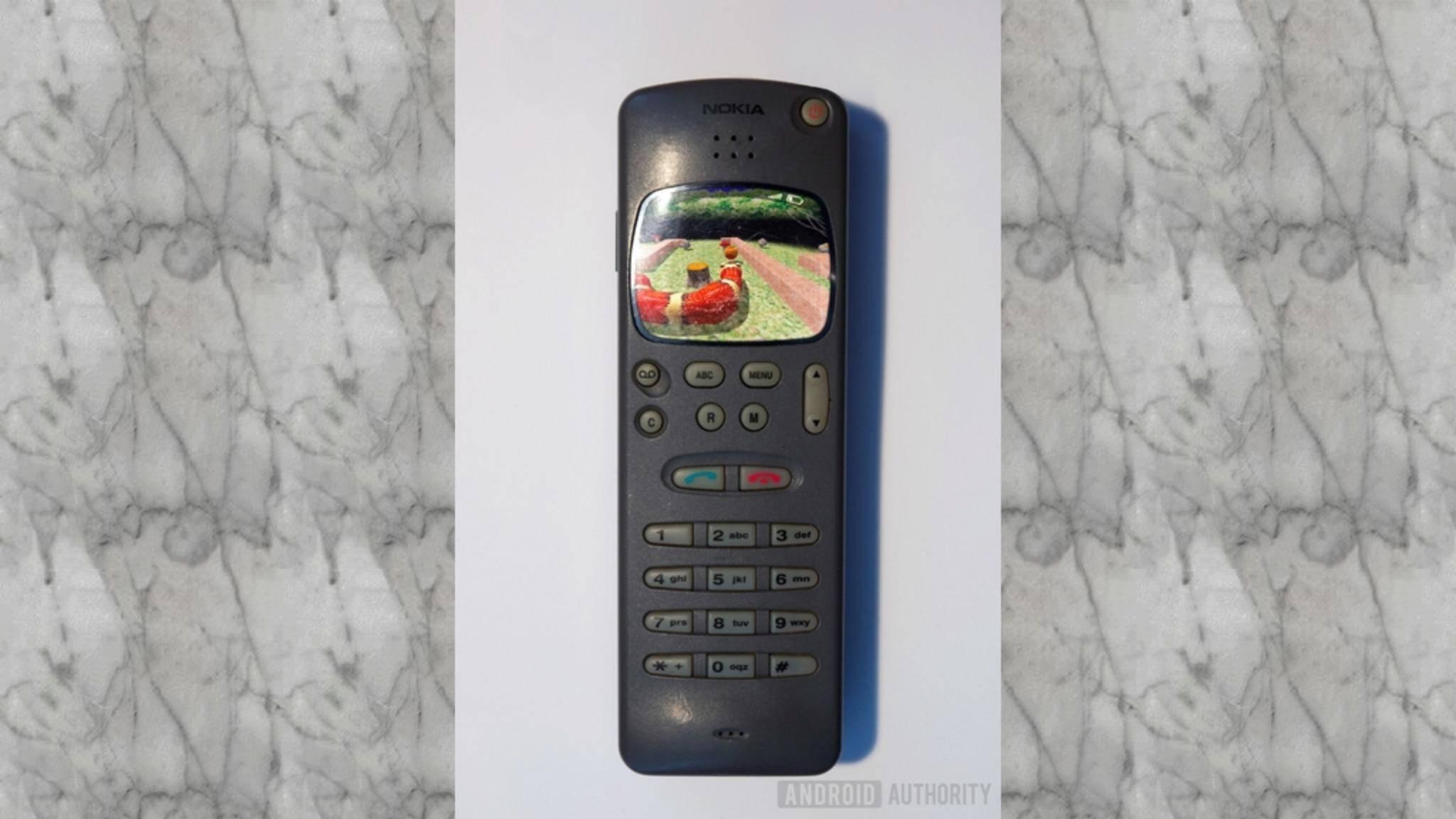 So könnte das Nokia 2010 bei seiner Rückkehr aussehen.