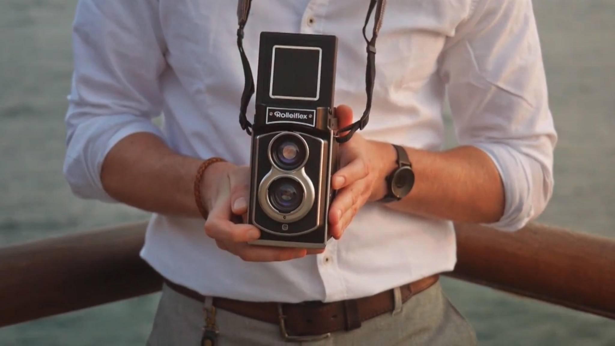 Die legendäre zweiäugige Rolleiflex-Kamera ist zurück.