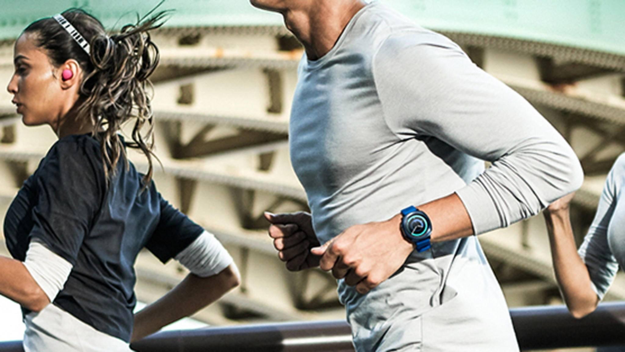 Unter anderem bringt das Software-Update der Samsung Gear Sport eine verbesserte Lesbarkeit der Daten während des Workouts.