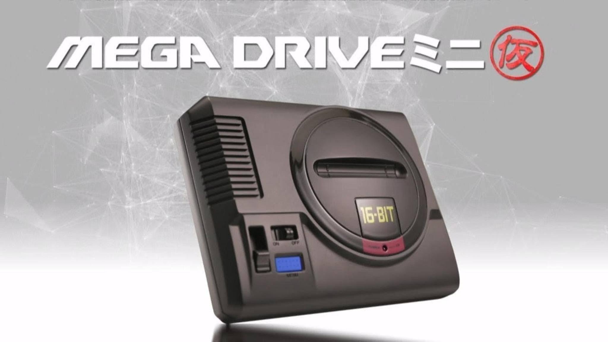 Das Sega Mega Drive Mini kommt im September endlich in den Handel.