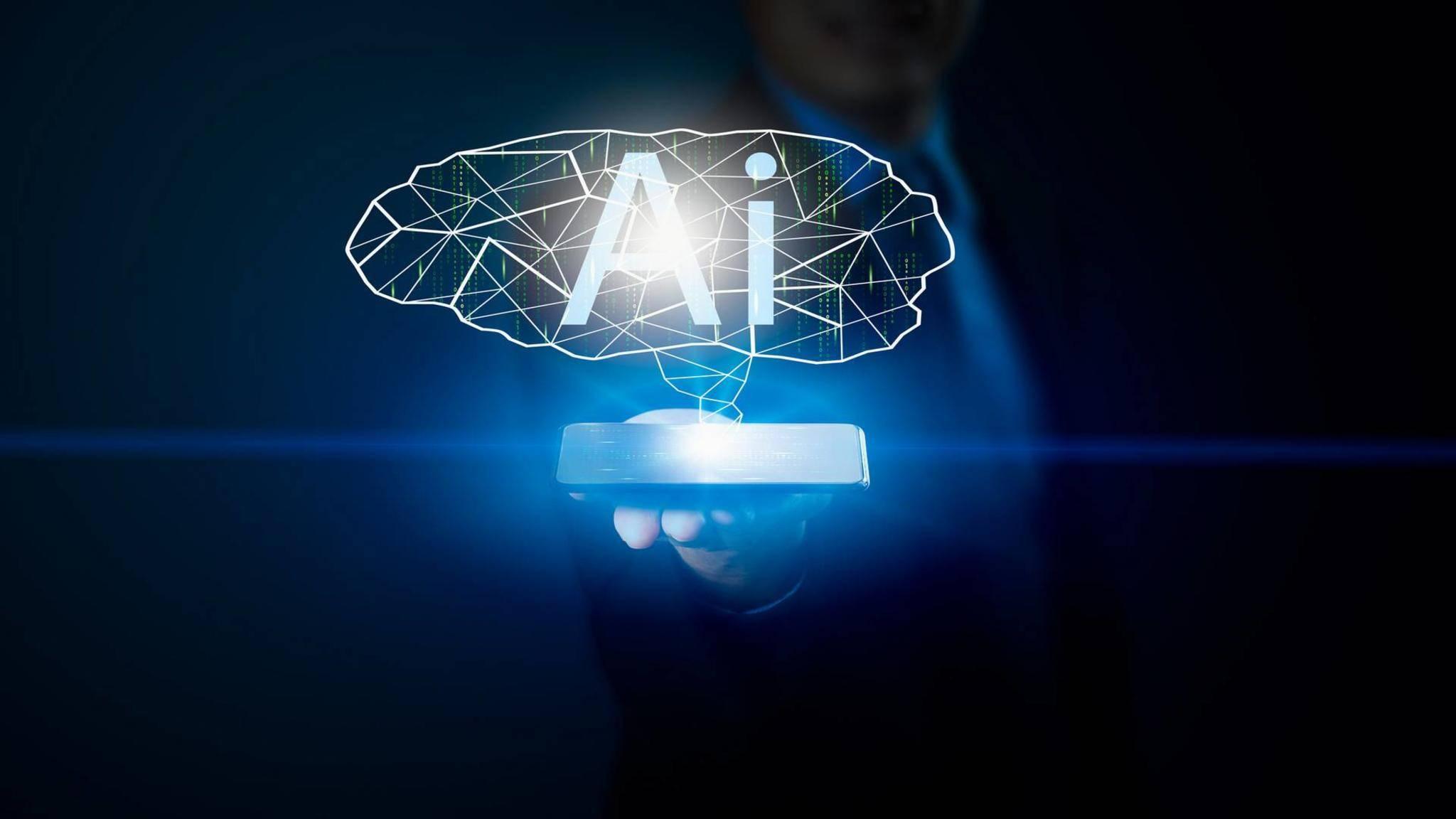 Smartphones profitieren heute schon von künstlicher Intelligenz.
