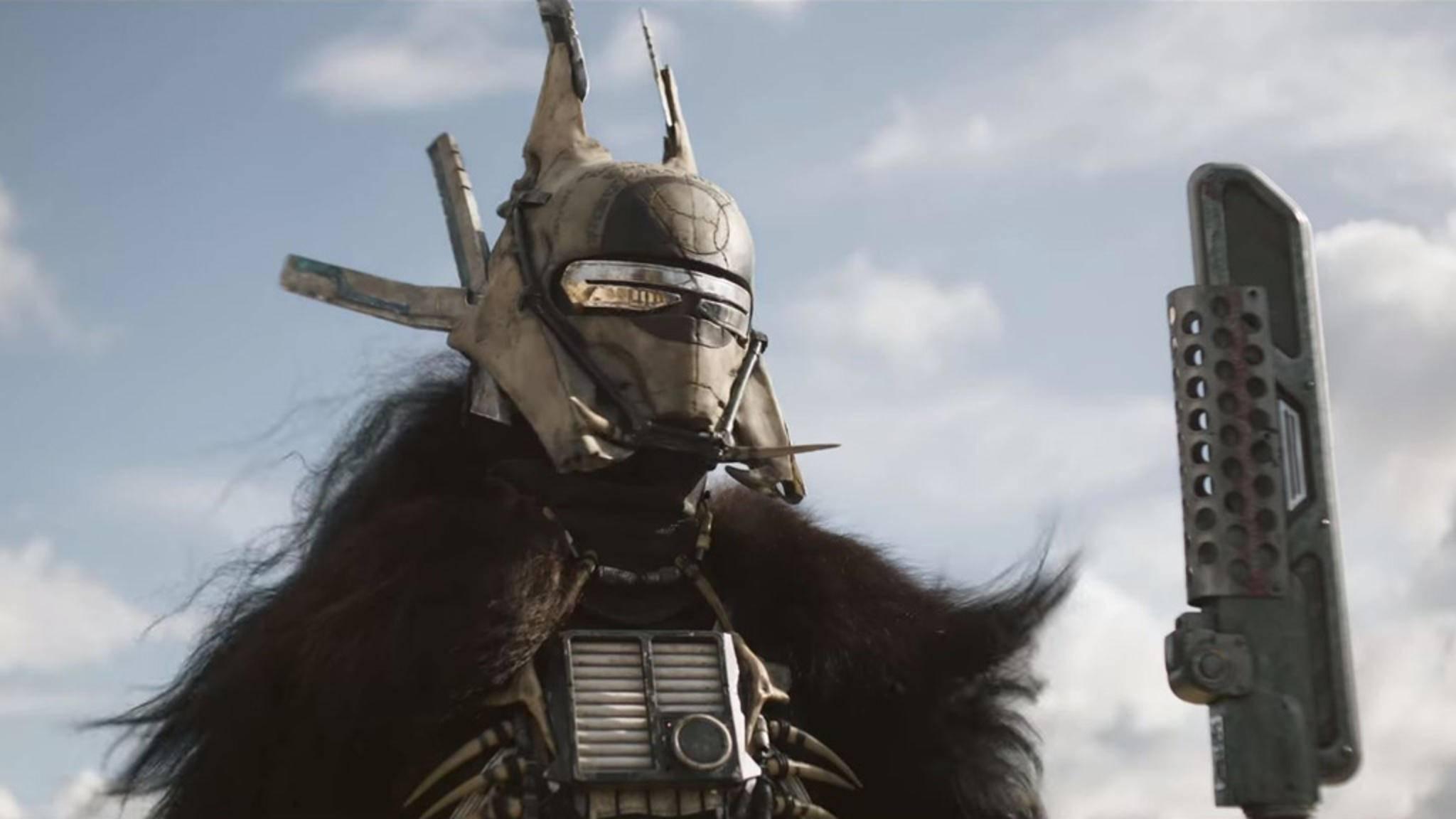 Gefährlich: Enfys Nest wird Han Solo gewiss ordentlich zu schaffen machen.