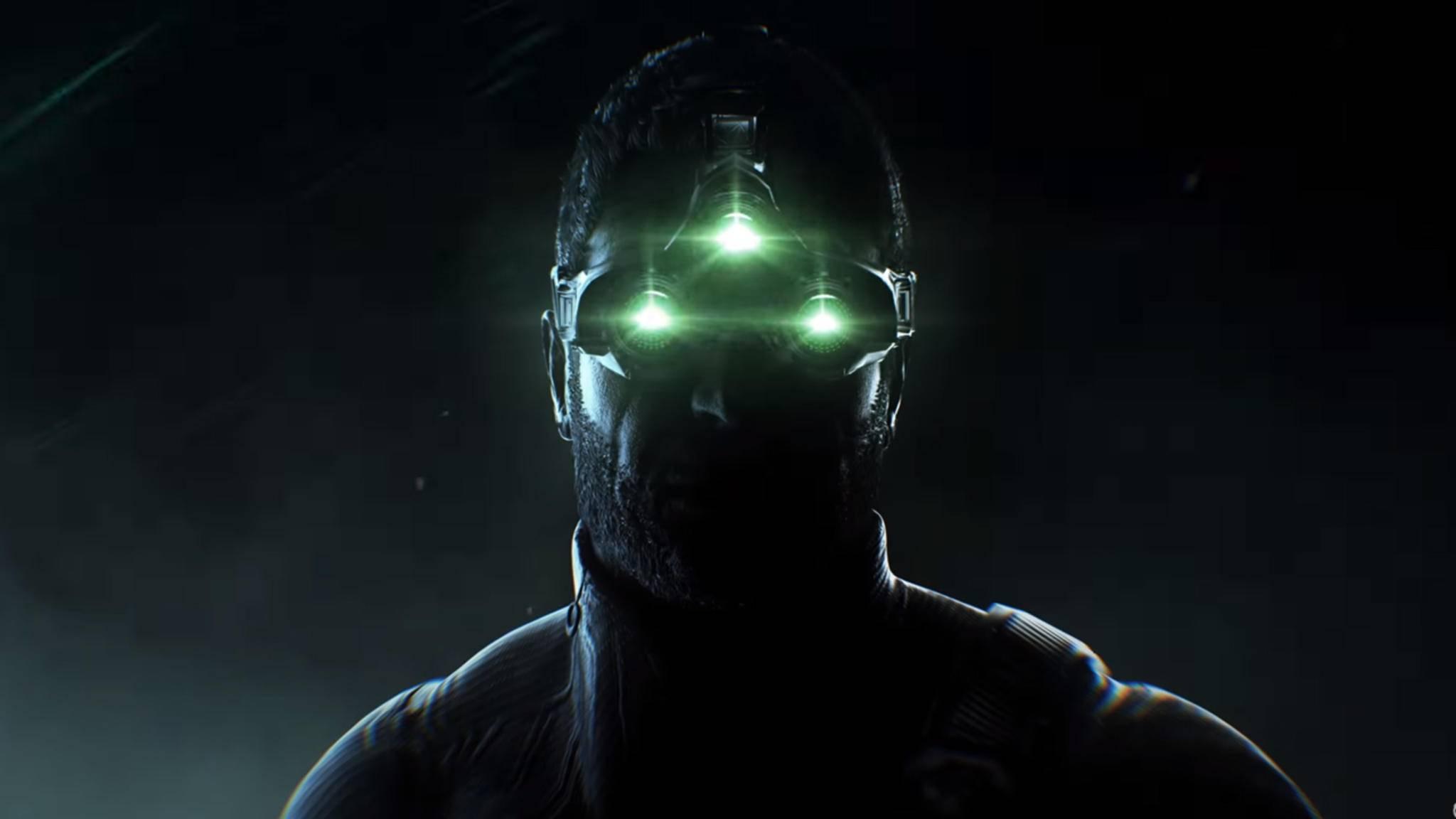 """Drei grüne Punkte: Könnten betrunkene Glühwürmchen sein, sind aber das ikonische Markenzeichen von """"Splinter Cell""""."""