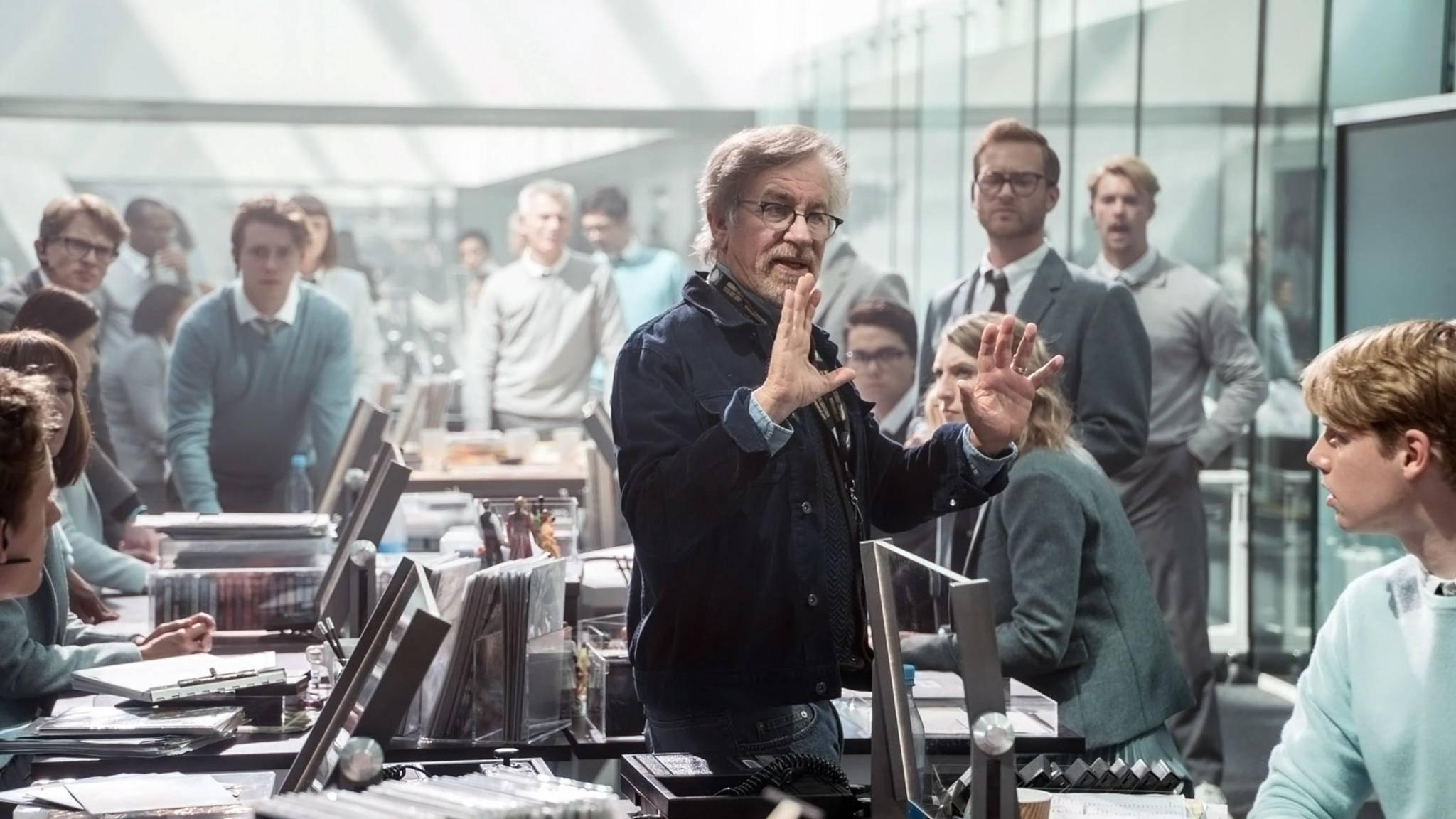 Visionär und Geschichtenerzähler: Regisseur Steven Spielberg in seinem Element.