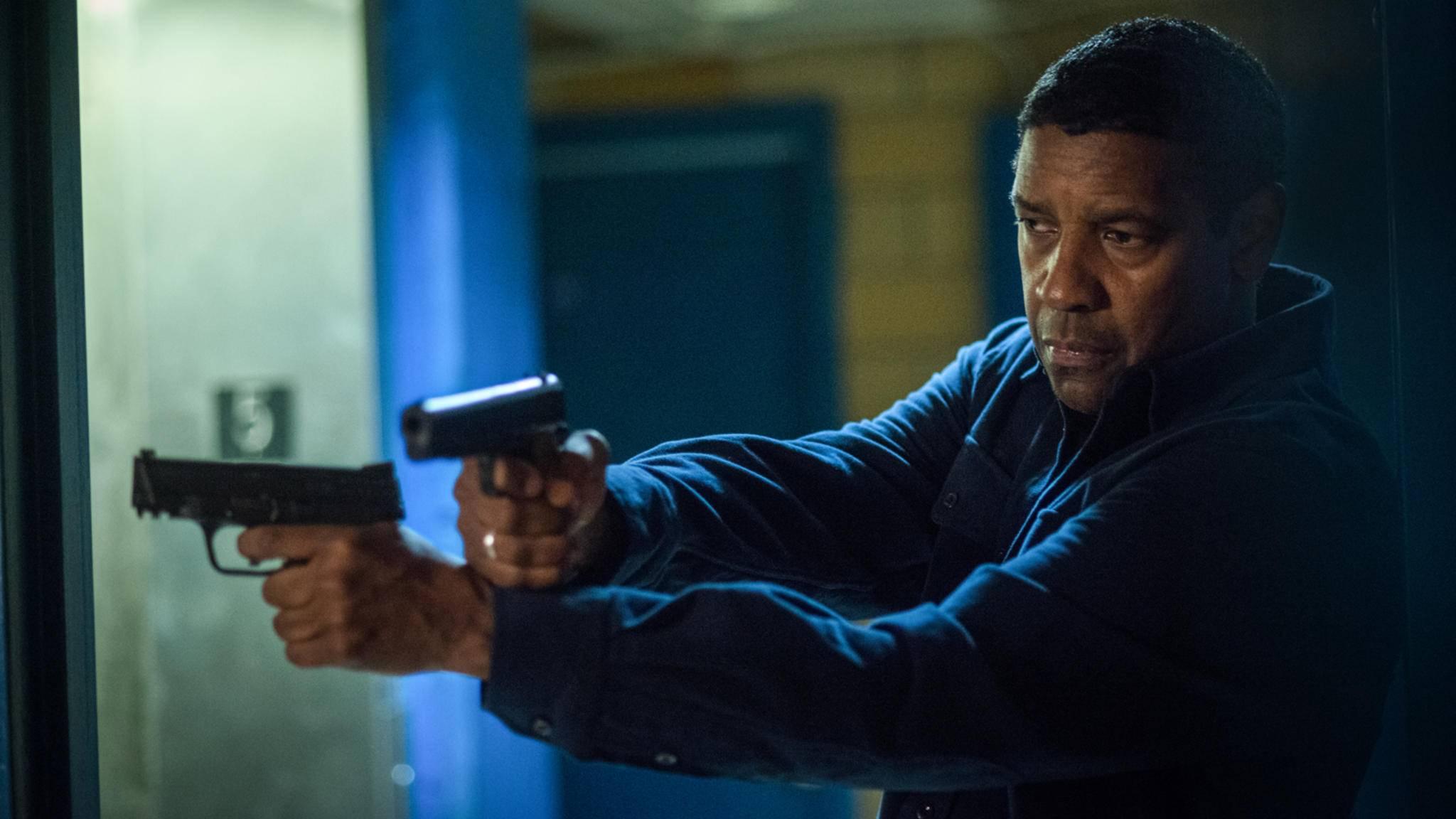 """Auch auf Blu-ray bietet """"The Equalizer 2"""" volle Action."""