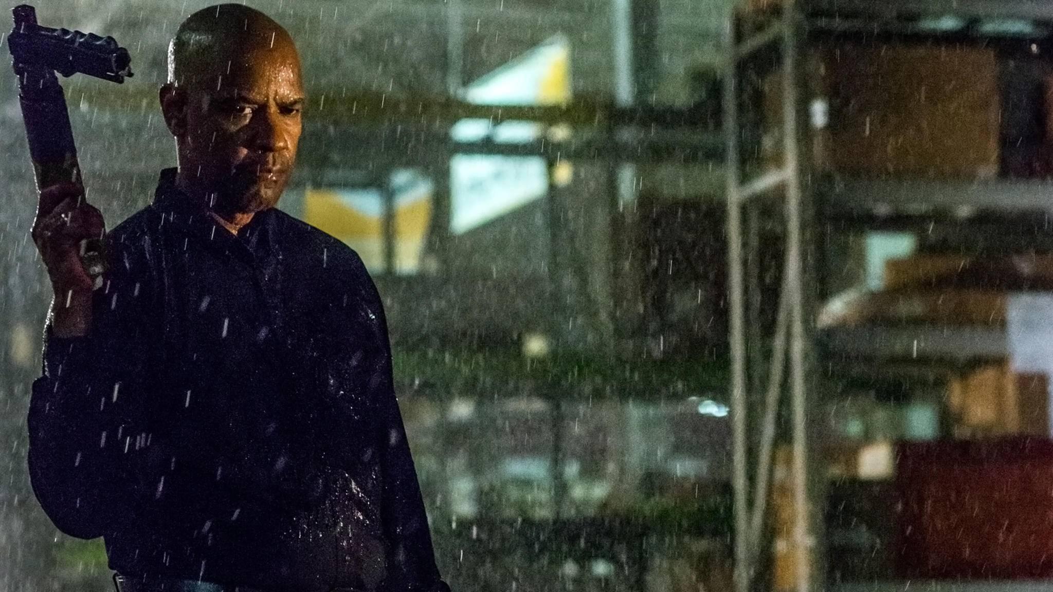 """Robert McCall sorgt in """"The Equalizer 2"""" erneut für mehr """"Gleichgewicht""""."""