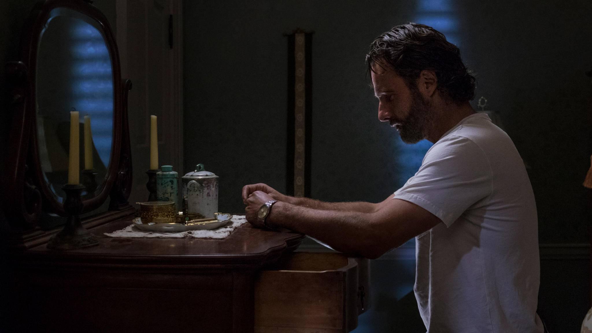 """Hinter den Kulissen von """"The Walking Dead"""" ging es dieses Mal besonders emotional zu."""