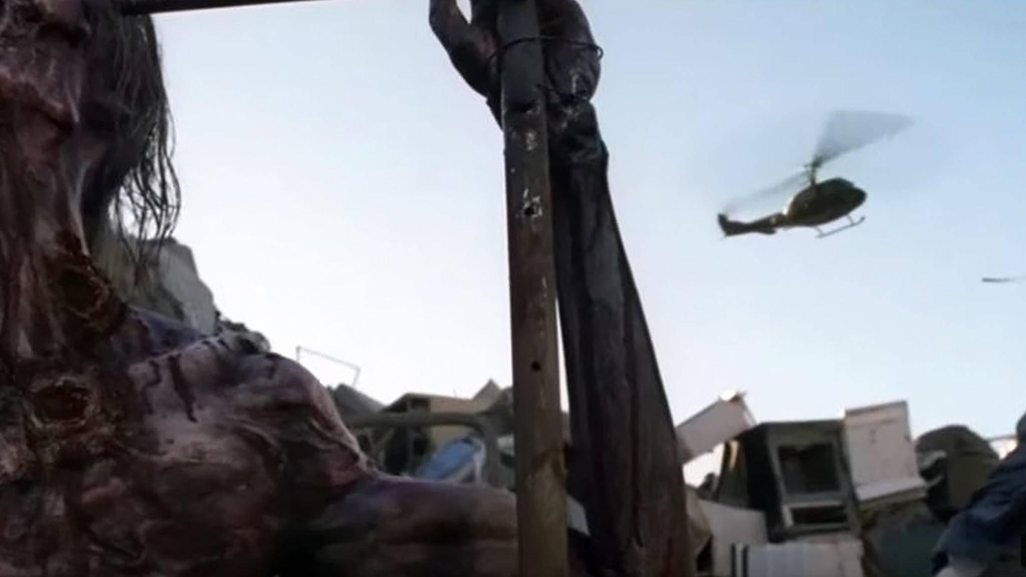"""Was hat es mit dem Helikopter in Staffel 8 von """"The Walking Dead"""" auf sich?"""