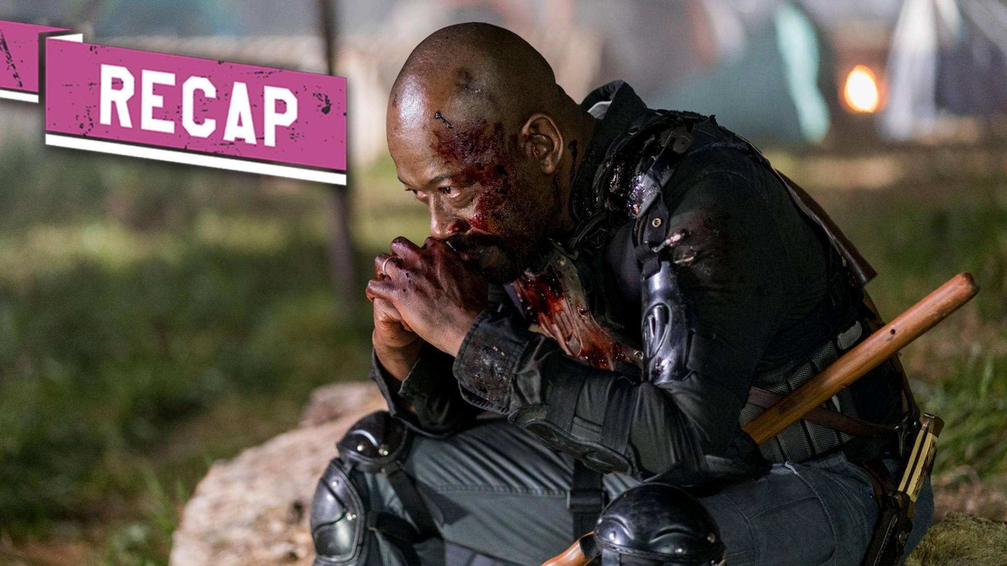 Morgan hat es in Episode 14 von Staffel 8 nicht leicht.