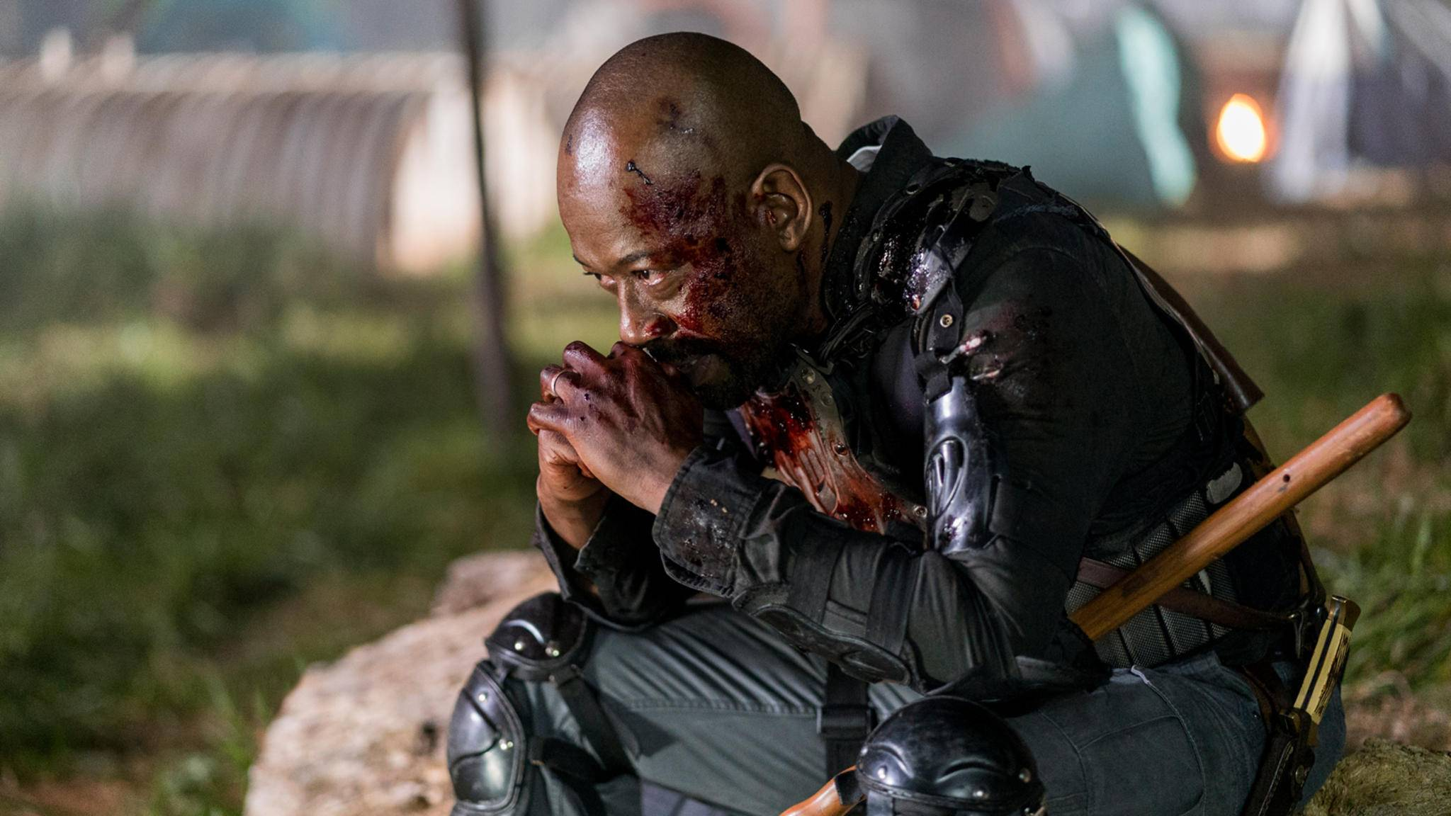 """Morgan dürfte nicht gefallen, was """"The Walking Dead"""" für Staffel 9 geplant hat."""